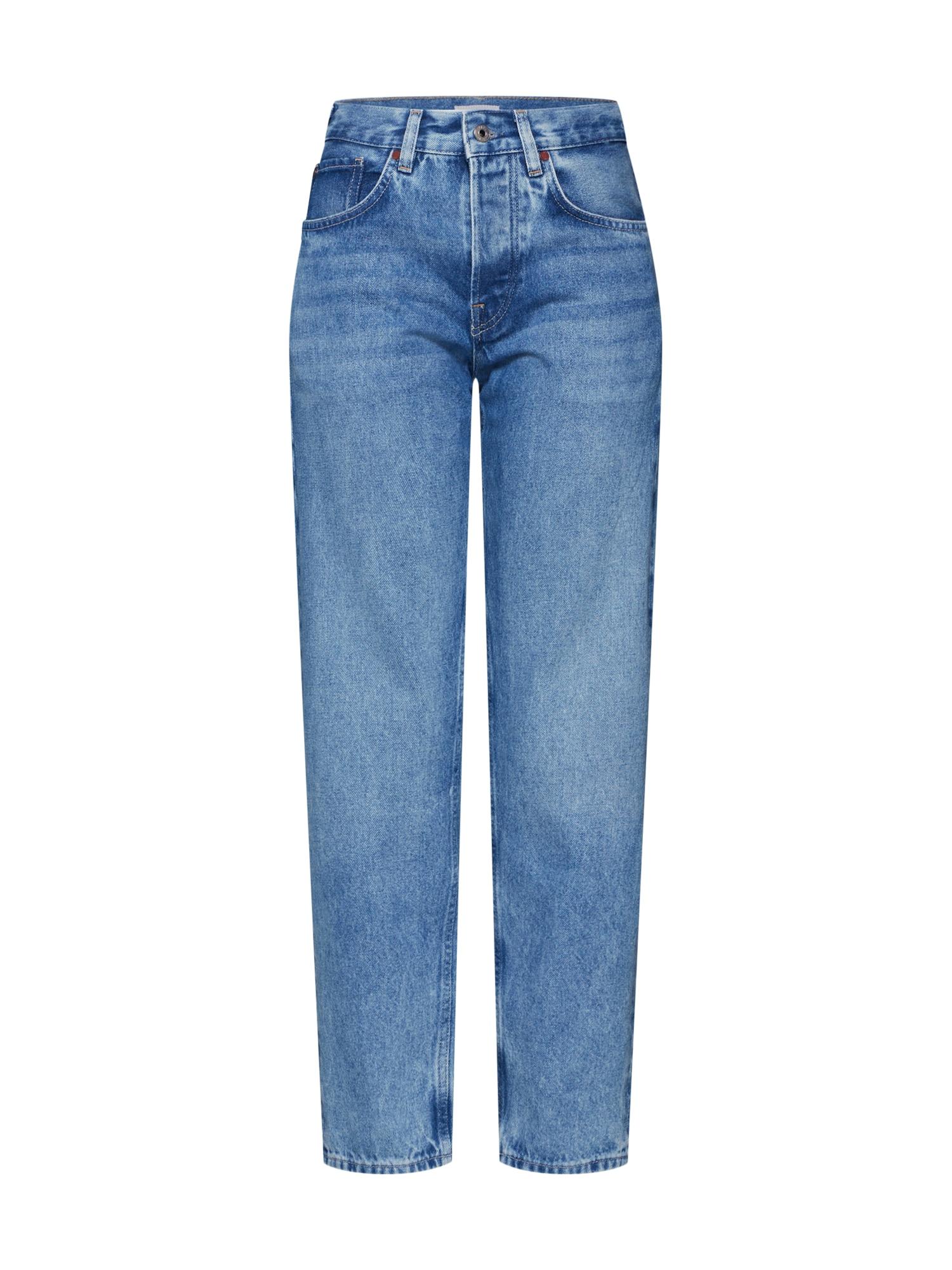 Džíny BELIFE JEANS modrá džínovina Pepe Jeans