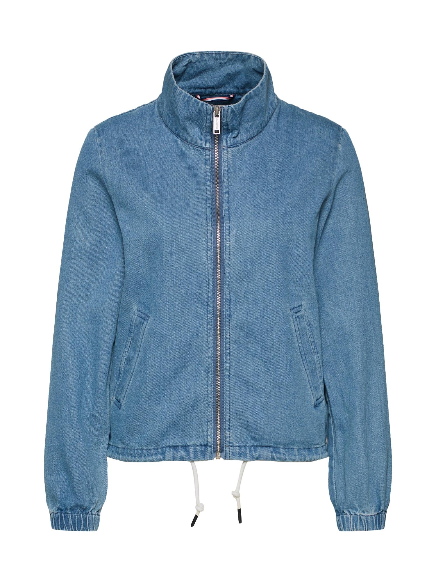 Přechodná bunda Amber modrá džínovina Wemoto