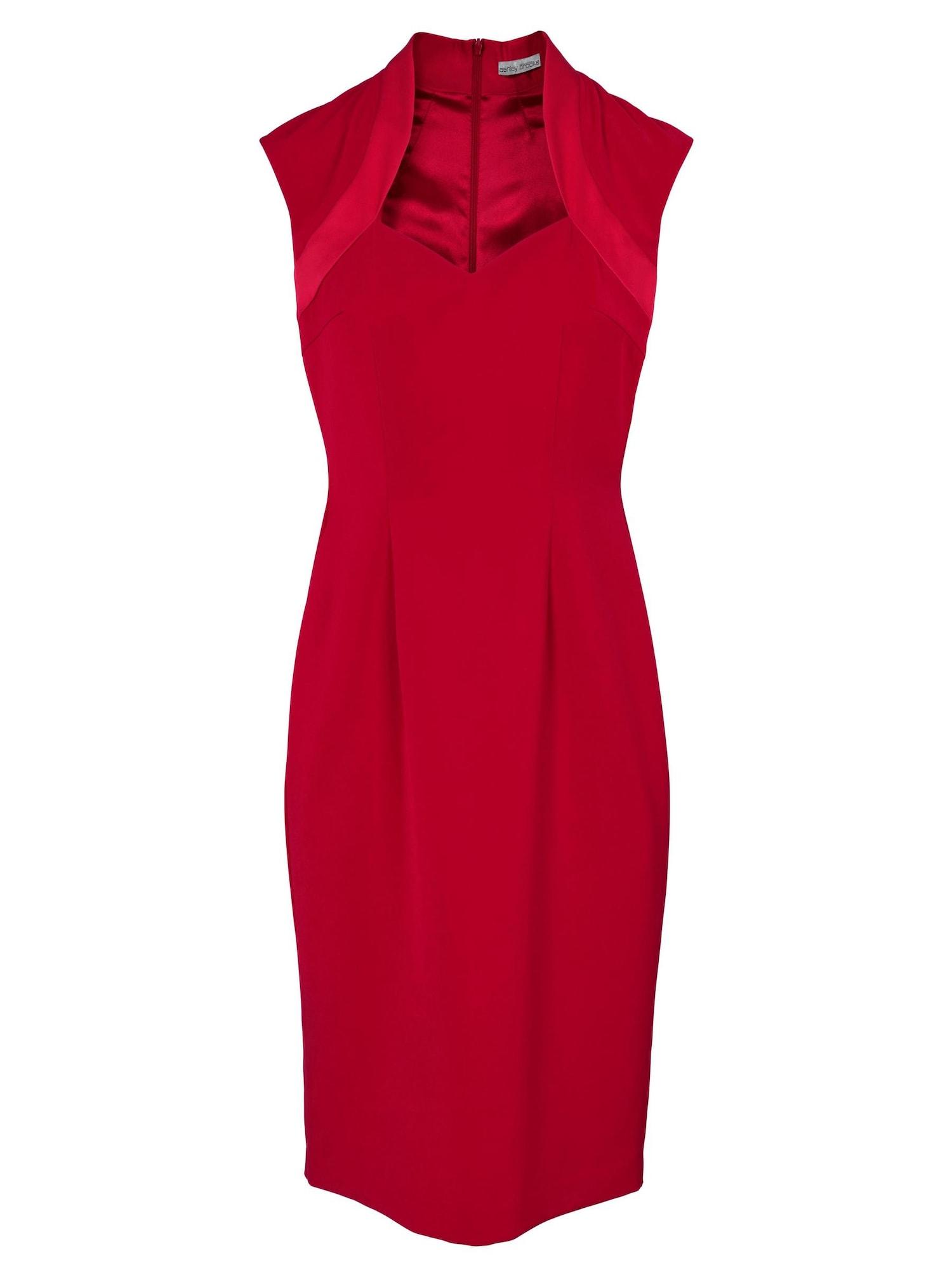 Pouzdrové šaty ASHLEY BROOKE červená Heine