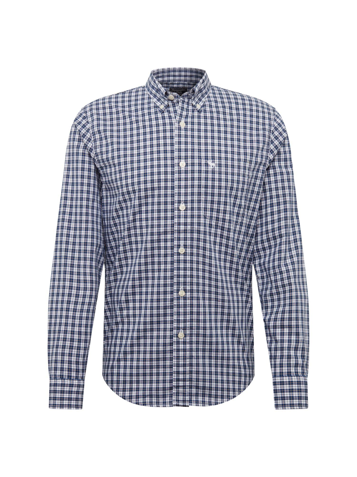Košile ICON CORE FASHION POPLIN CCMD 3CC modrá Abercrombie & Fitch