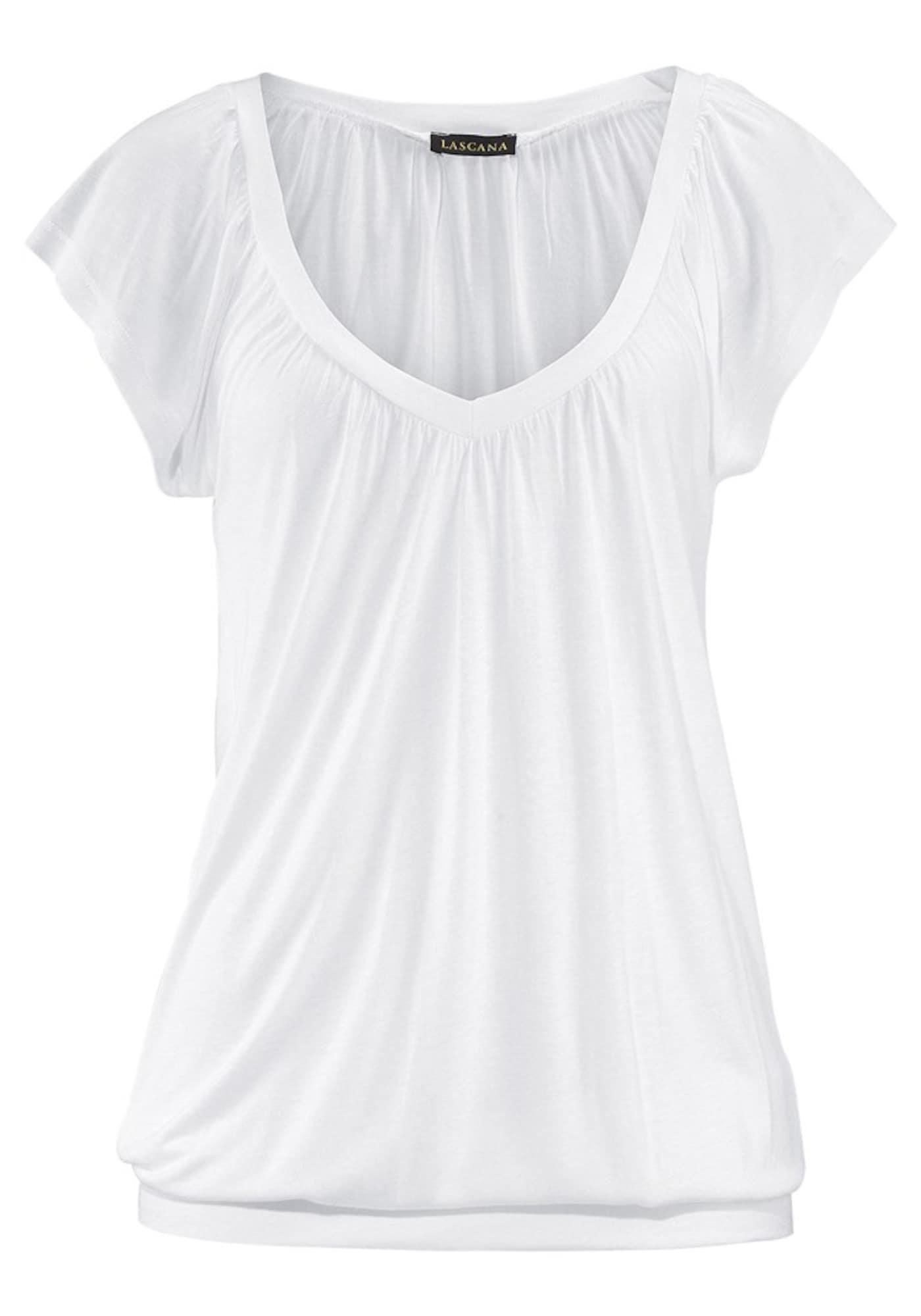 LASCANA, Dames Shirt, wit