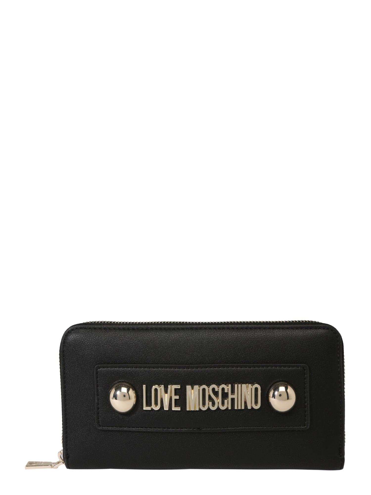 Peněženka černá Love Moschino