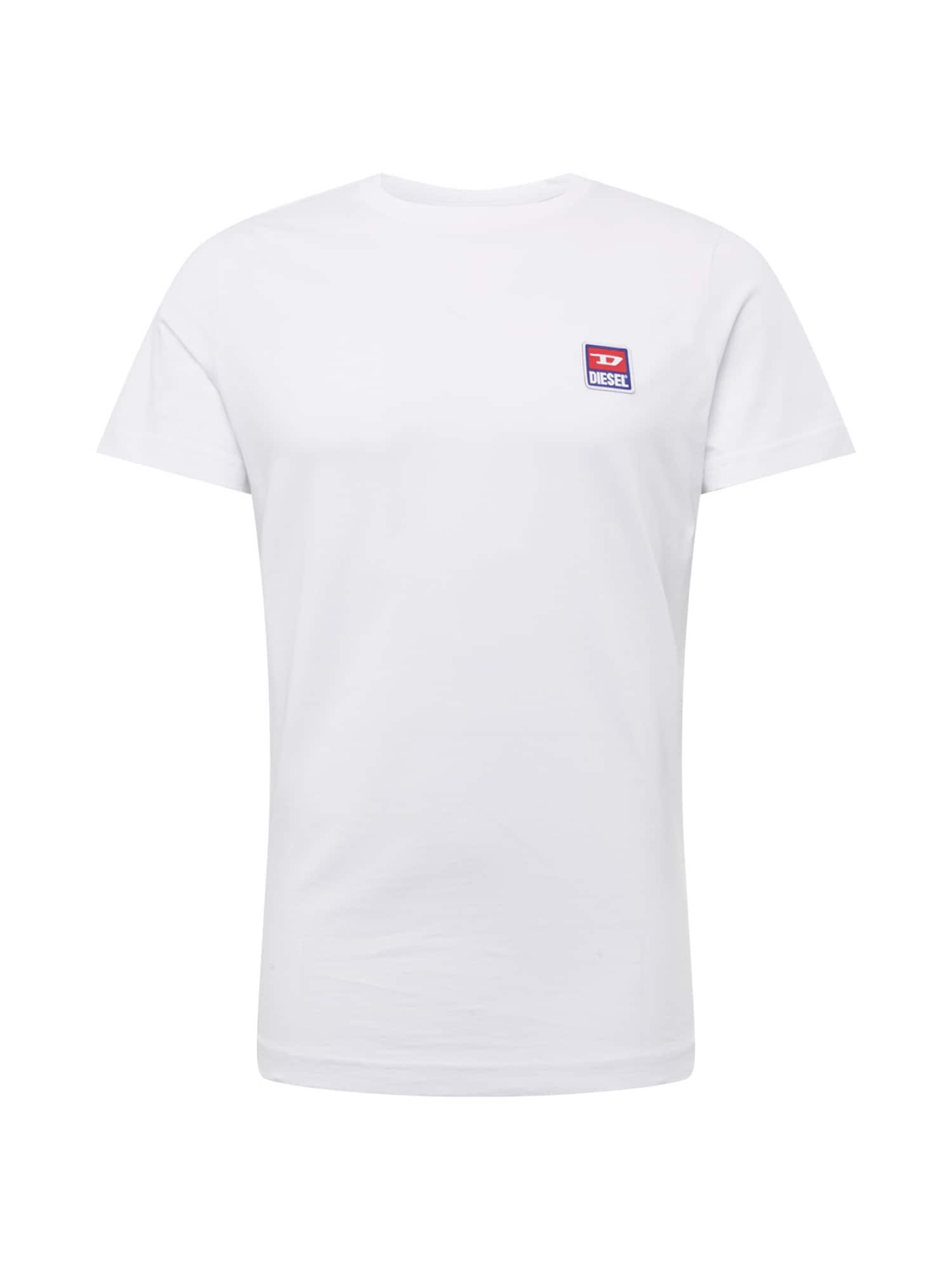 Tričko T-DIEGO-DIV HEMD bílá DIESEL
