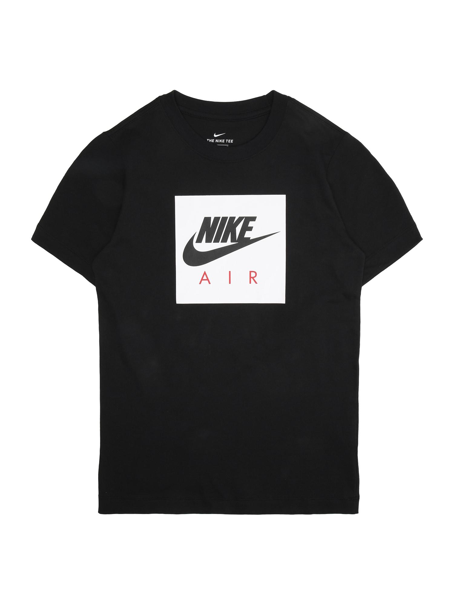 Tričko B NSW TEE NIKE AIR BOX černá Nike Sportswear