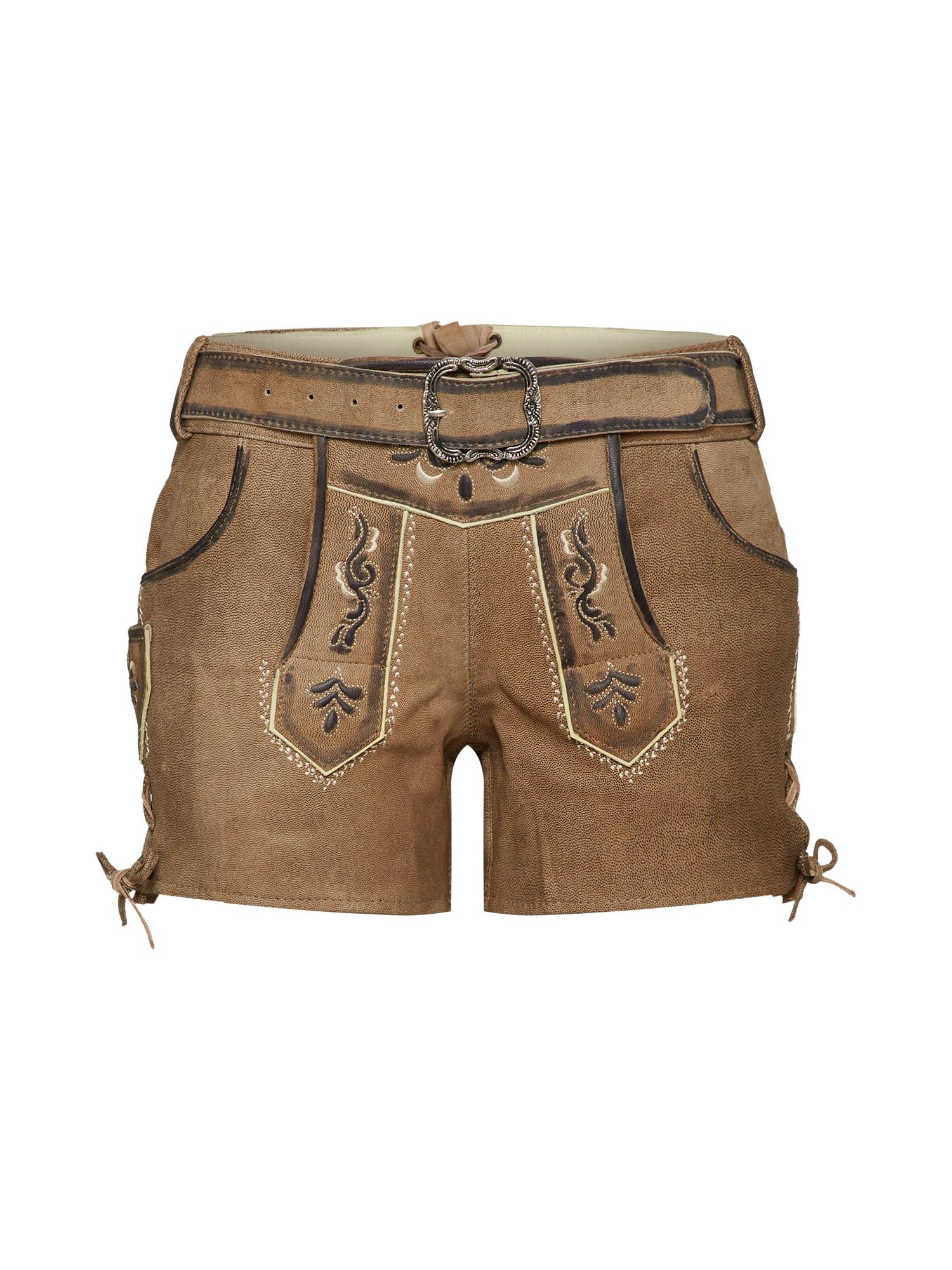Krojové kalhoty Leni béžová MONDKINI