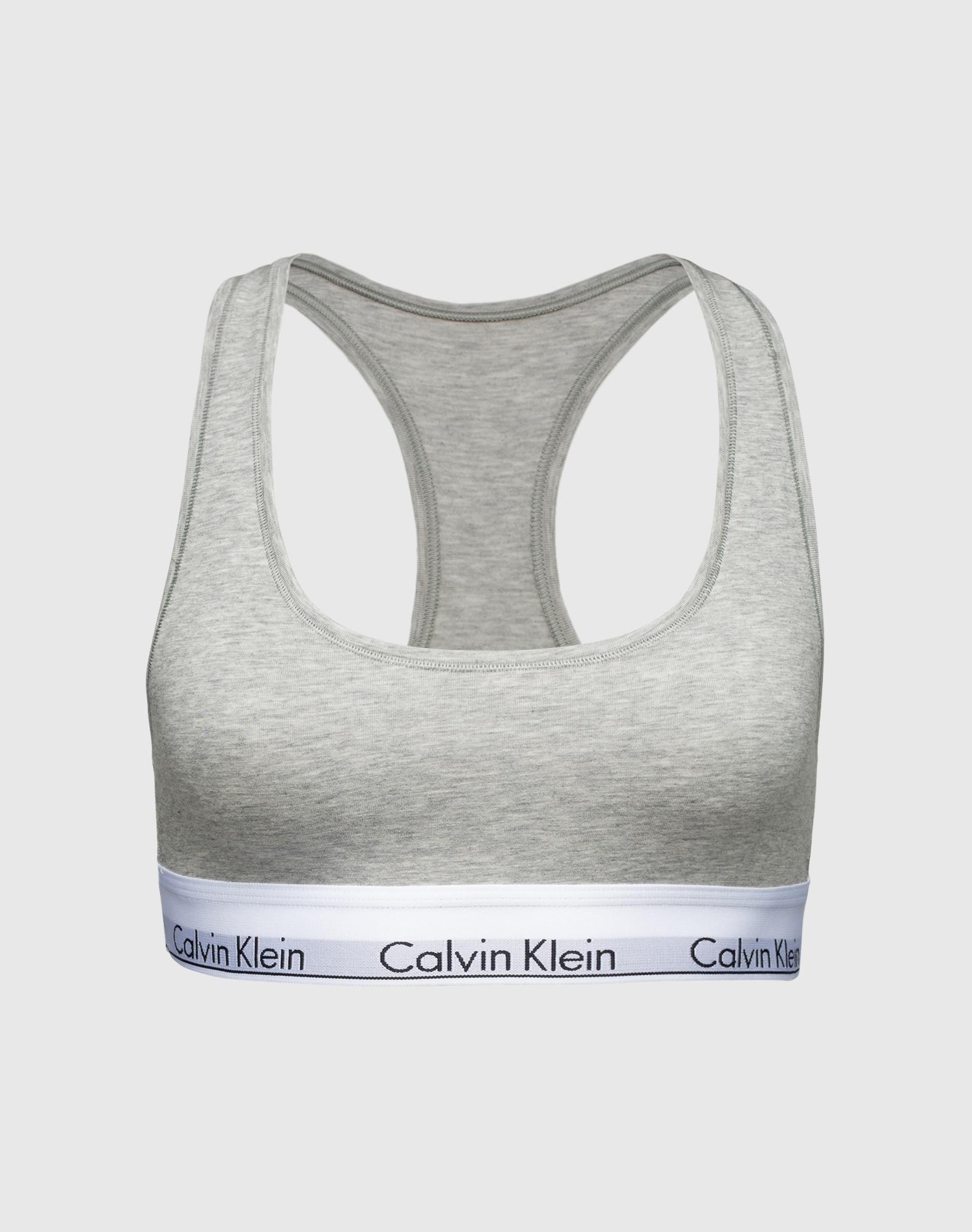 Calvin Klein Underwear, Dames BH, grijs