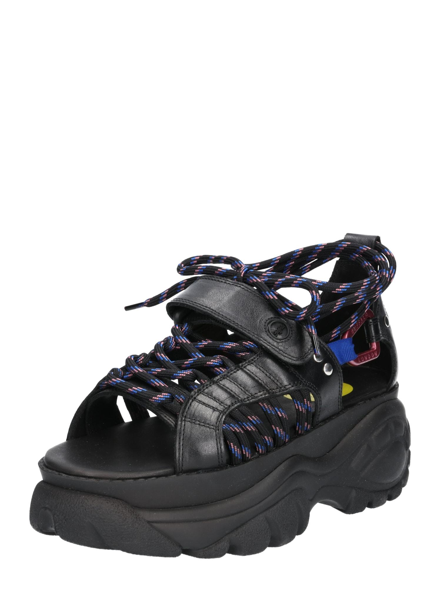 Páskové sandály ELIN černá Buffalo London