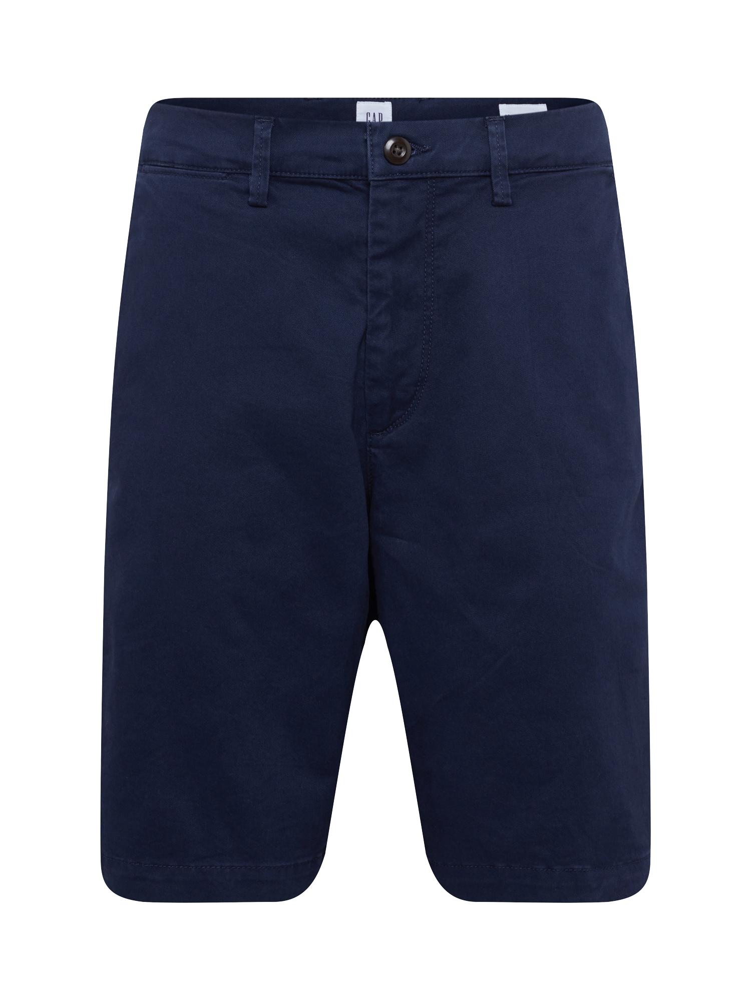 Chino kalhoty námořnická modř GAP