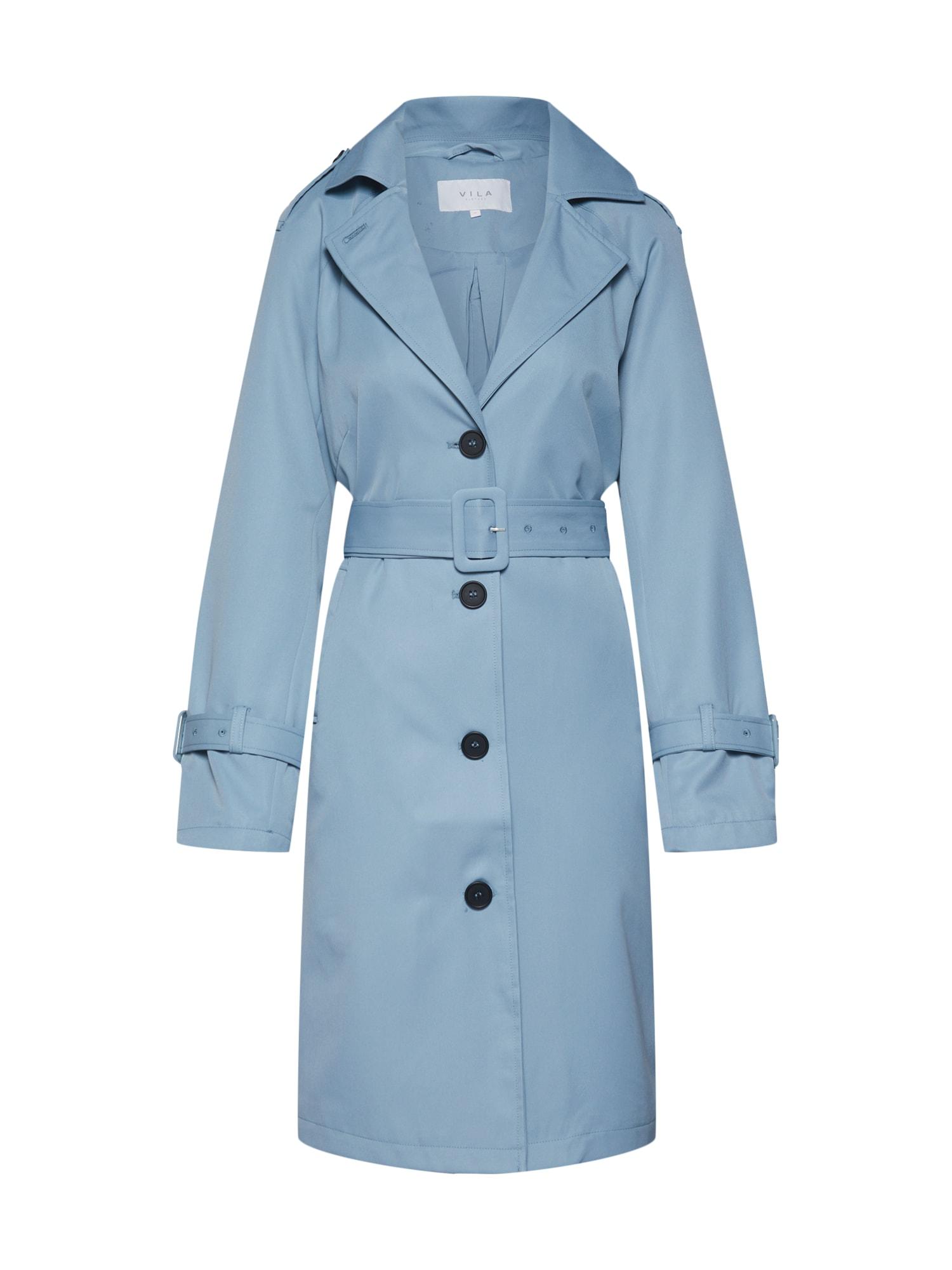 Přechodný kabát JOALA světlemodrá VILA