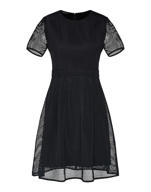 Kleid mit blickdichtem Futter