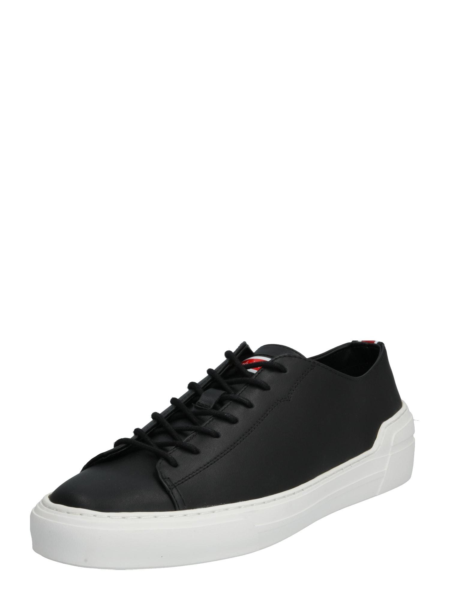 Calvin Klein Nízke tenisky 'OCTAVIAN'  čierna / biela