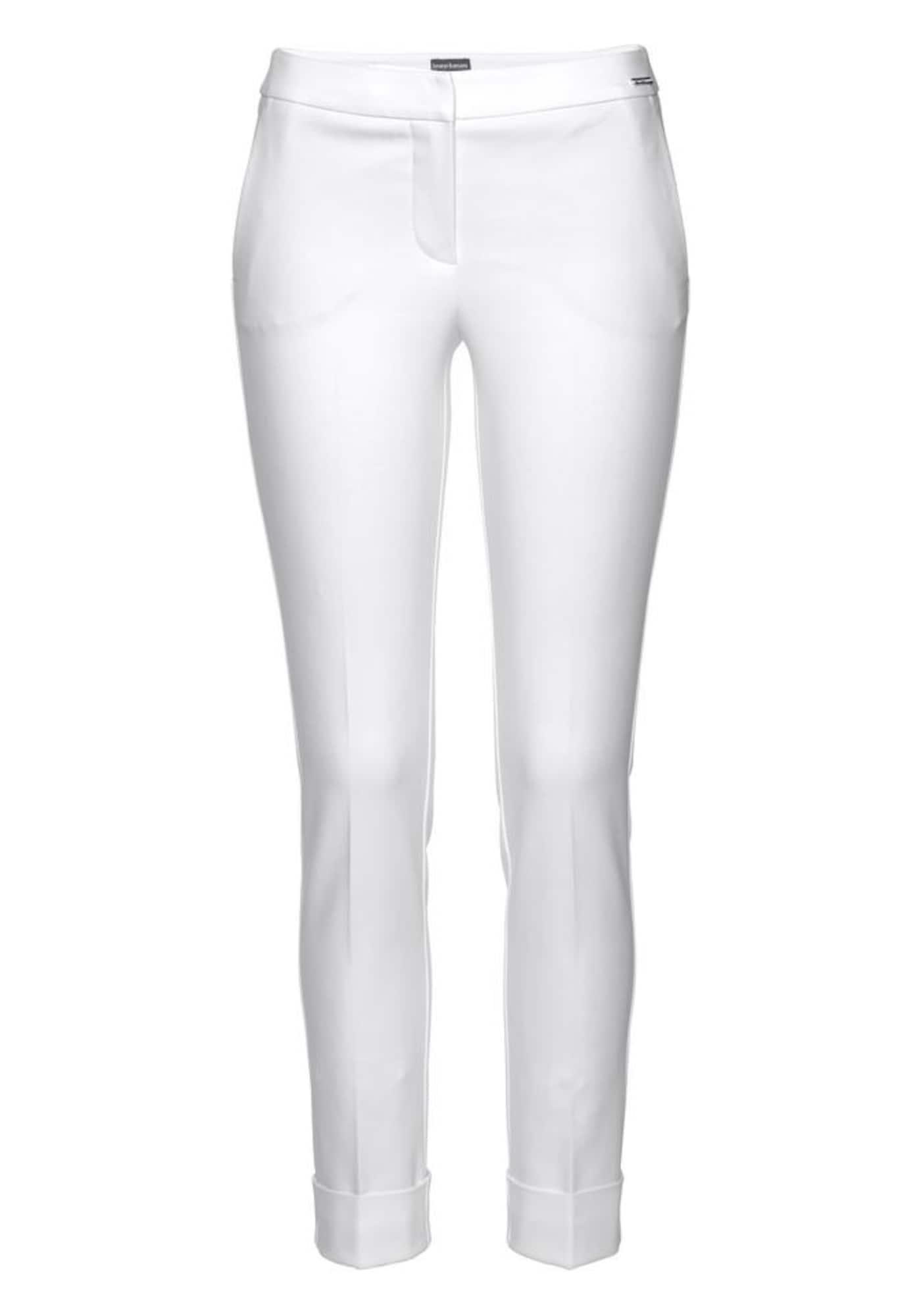 Bügelfaltenhose | Bekleidung > Hosen > Bügelfaltenhosen | Weiß | Bruno Banani