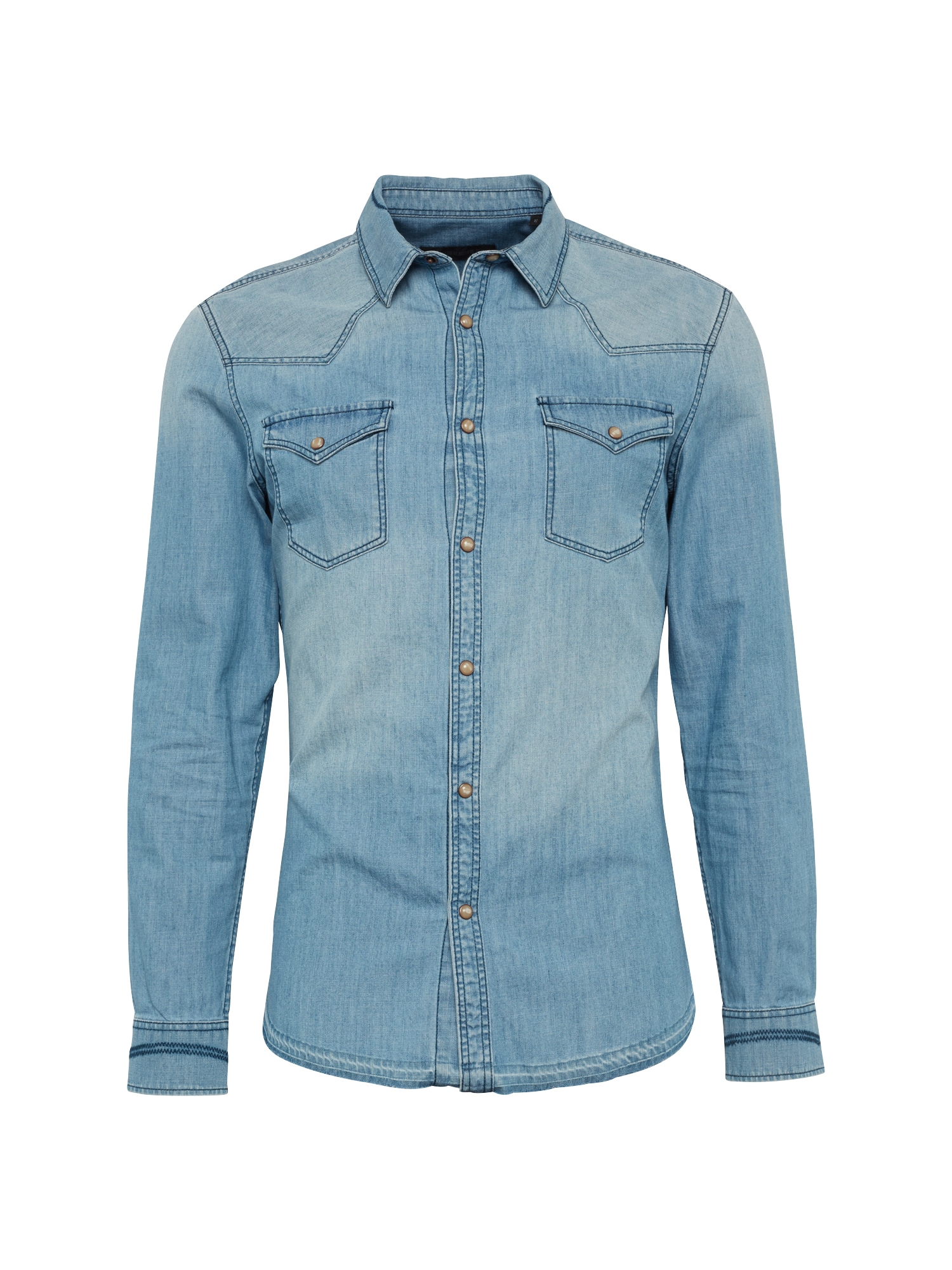 Košile SAMU modrá džínovina DRYKORN