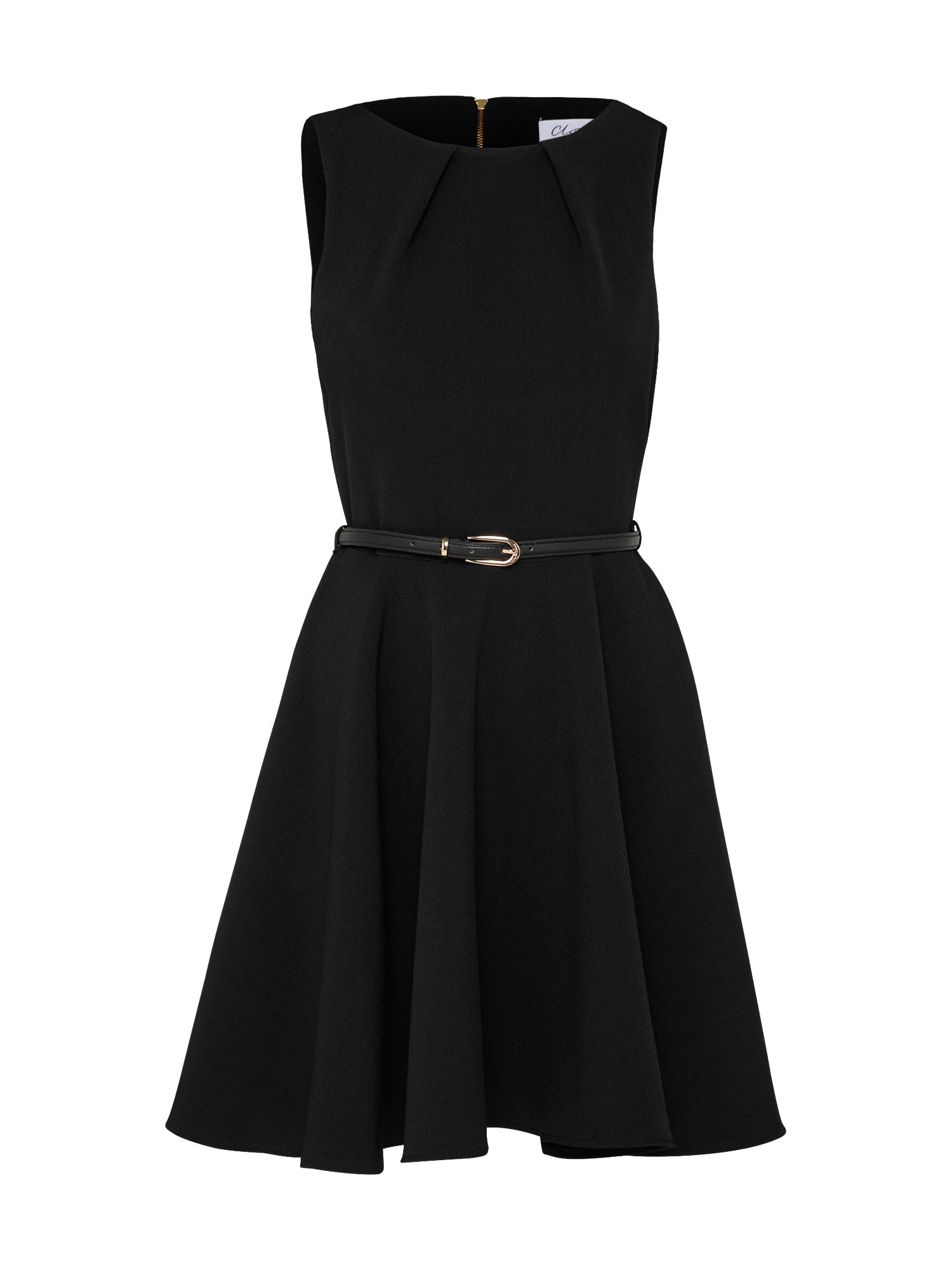 Koktejlové šaty černá Closet London