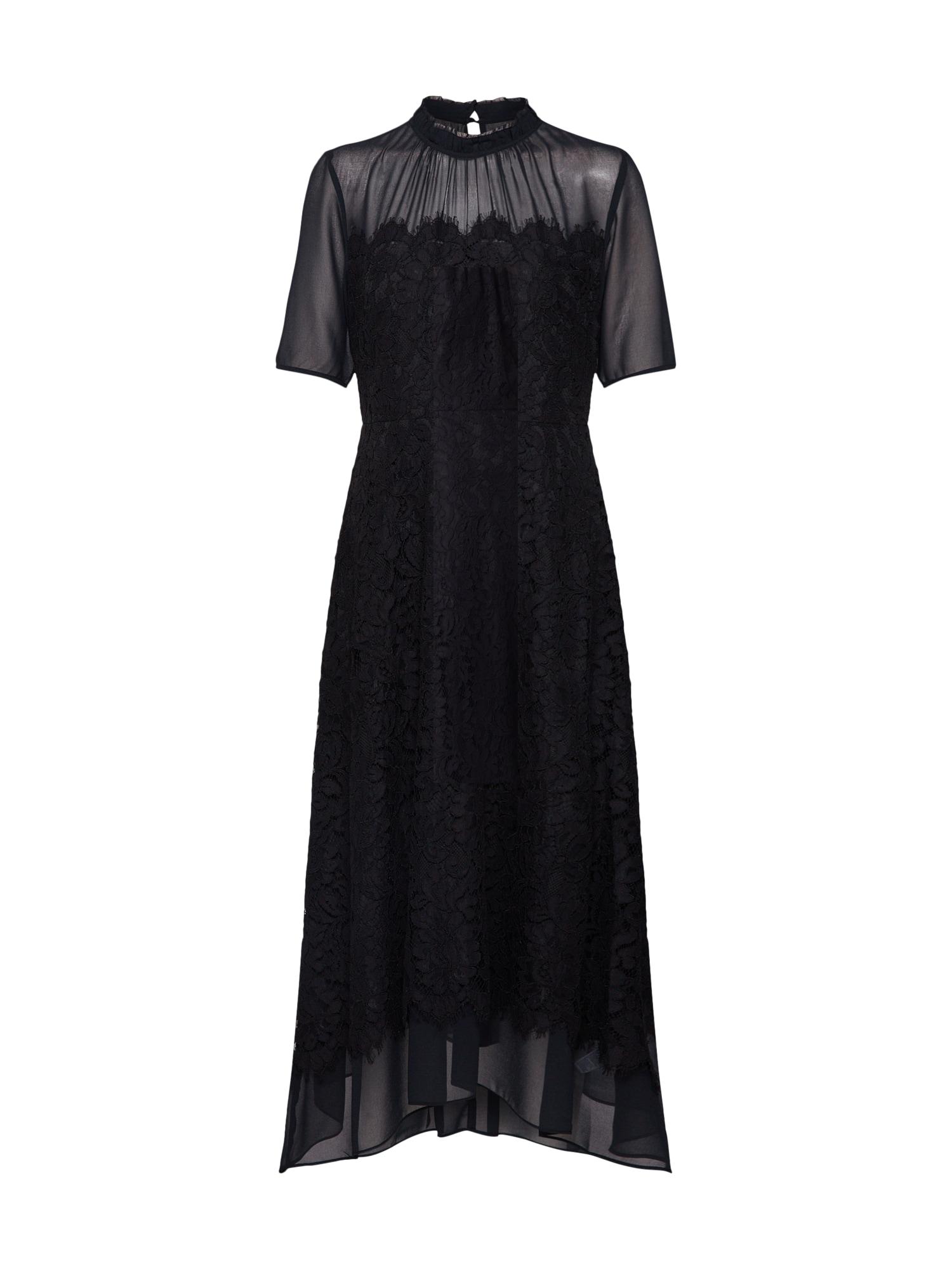 Šaty J SS LACE DRESS černá Banana Republic