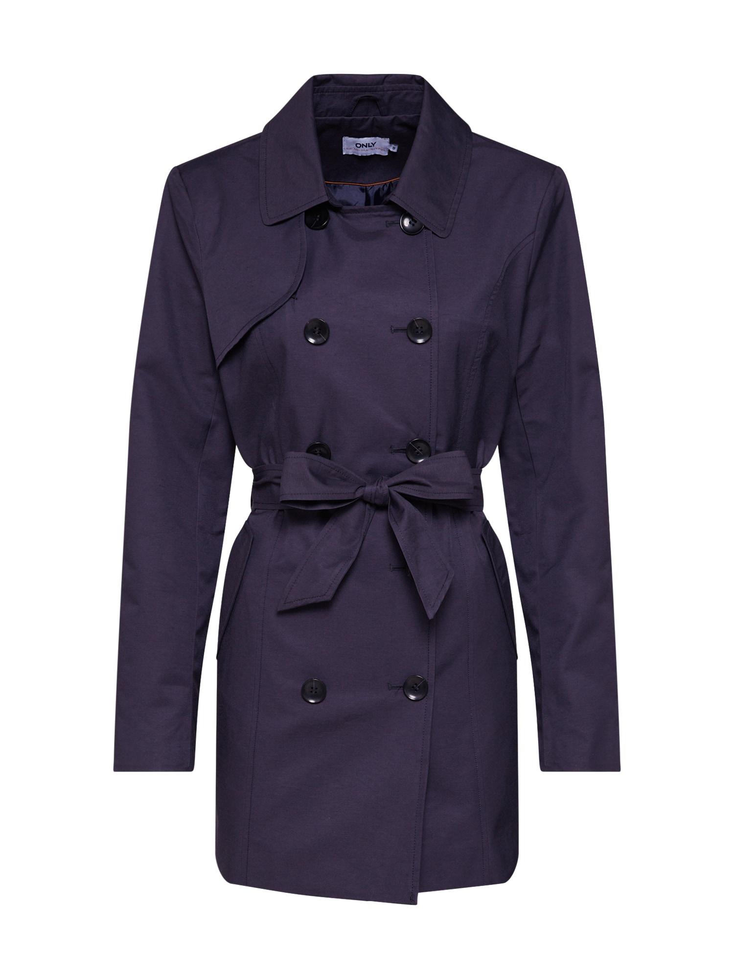 Přechodný kabát onlLAURA noční modrá ONLY