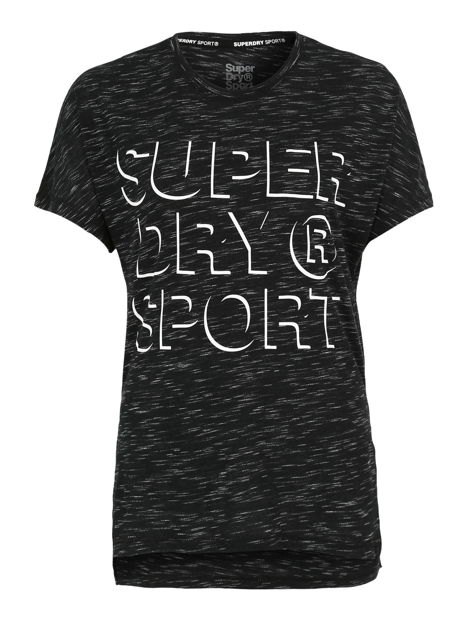 Funkční tričko černá Superdry