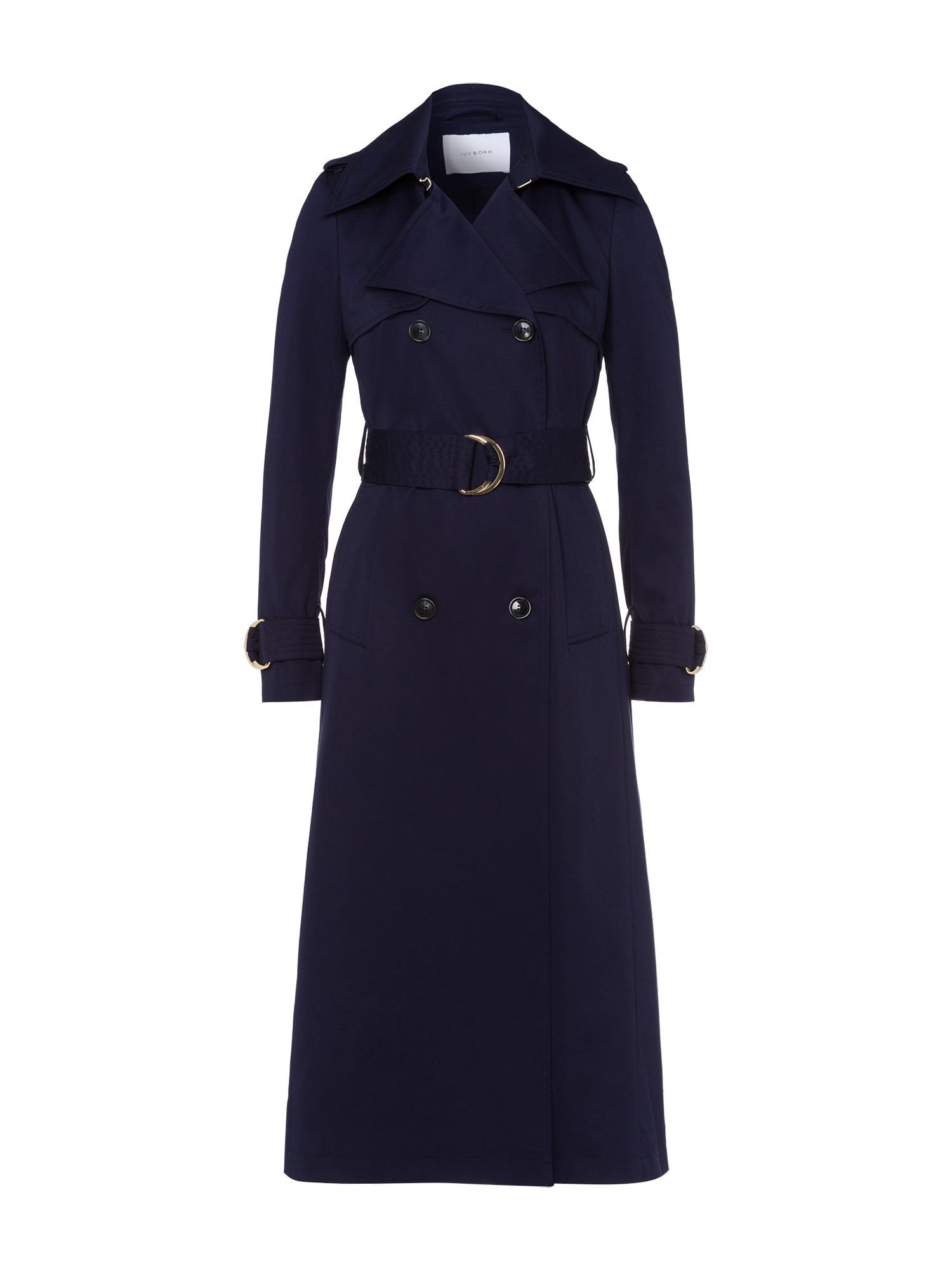 Přechodný kabát Trench Coat námořnická modř IVY & OAK