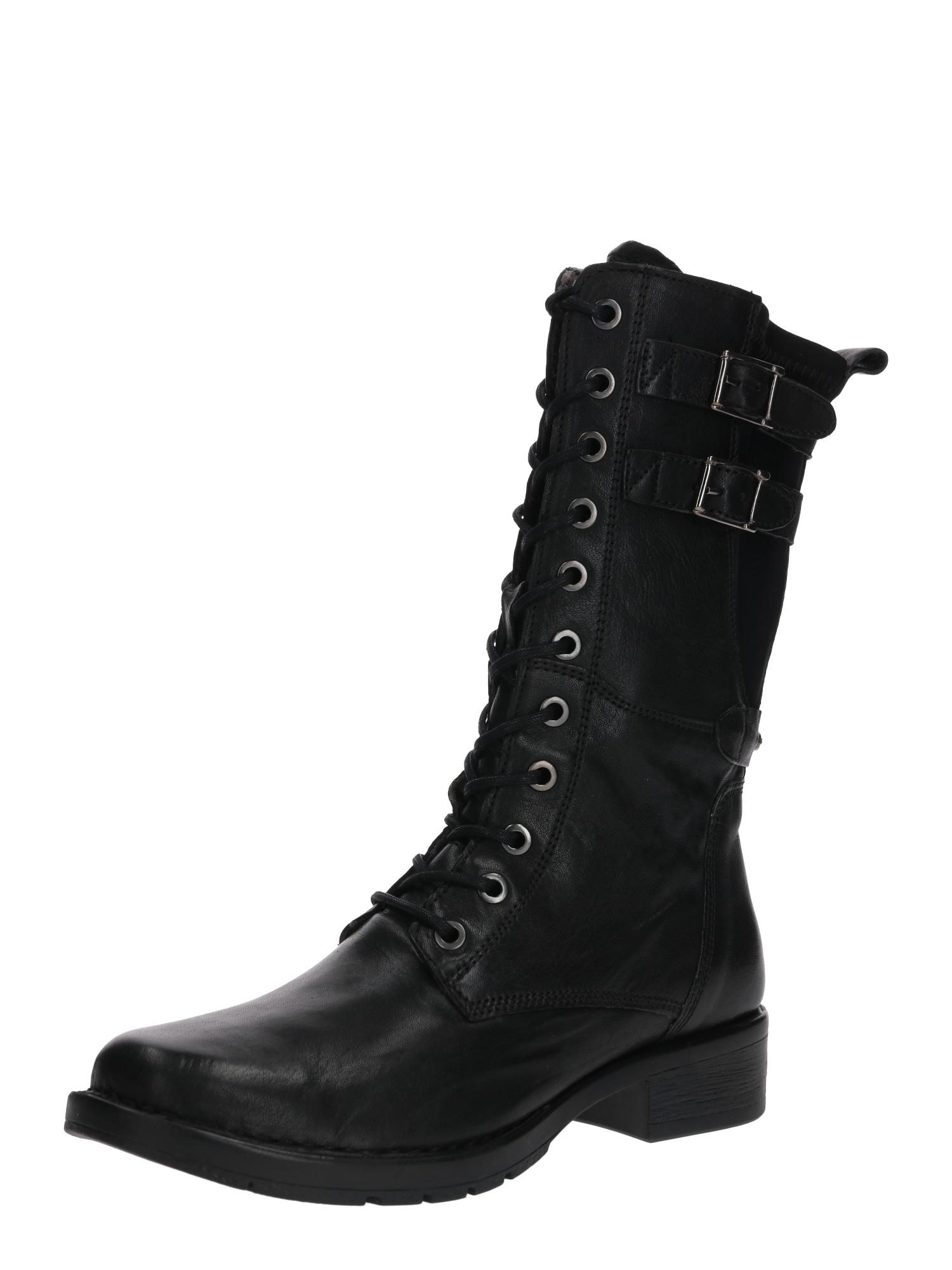 Šněrovací boty Bright černá CAMEL ACTIVE