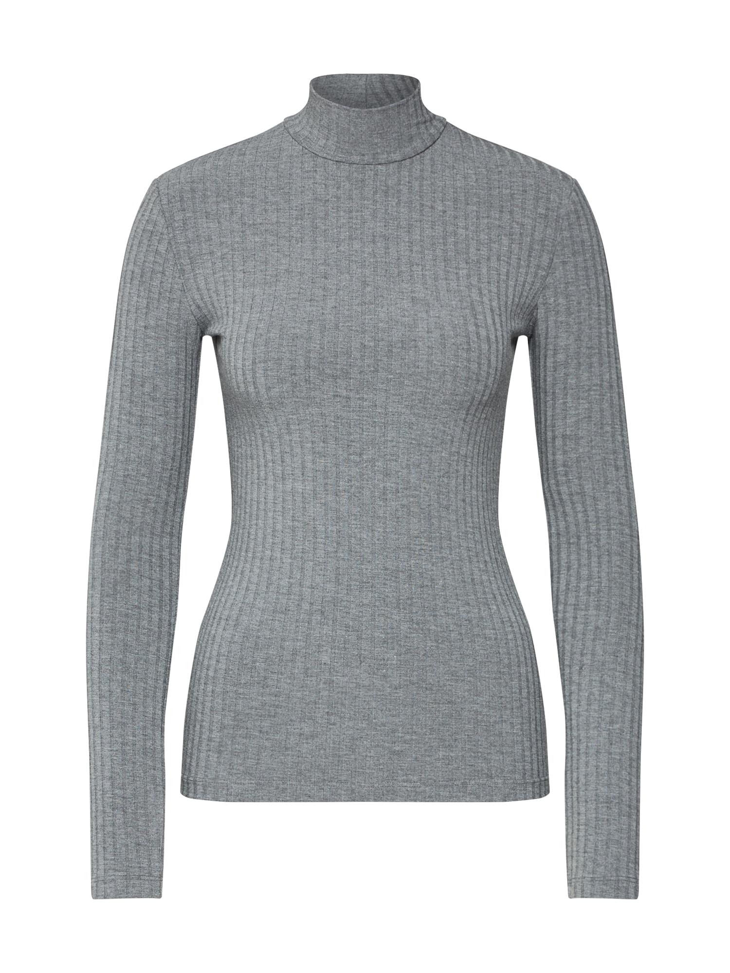 Tričko Manon šedá šedý melír EDITED