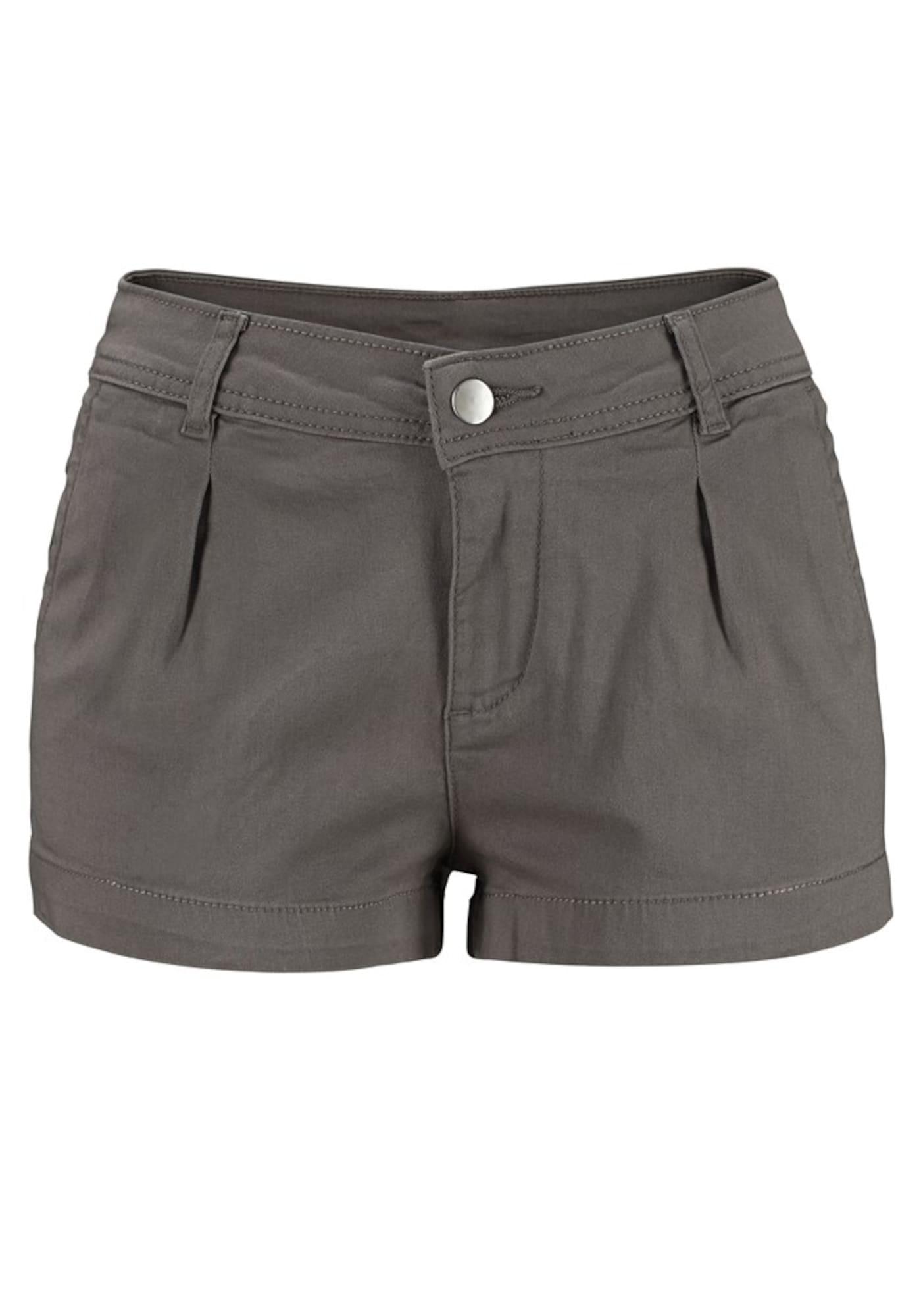 Kalhoty šedá khaki LASCANA