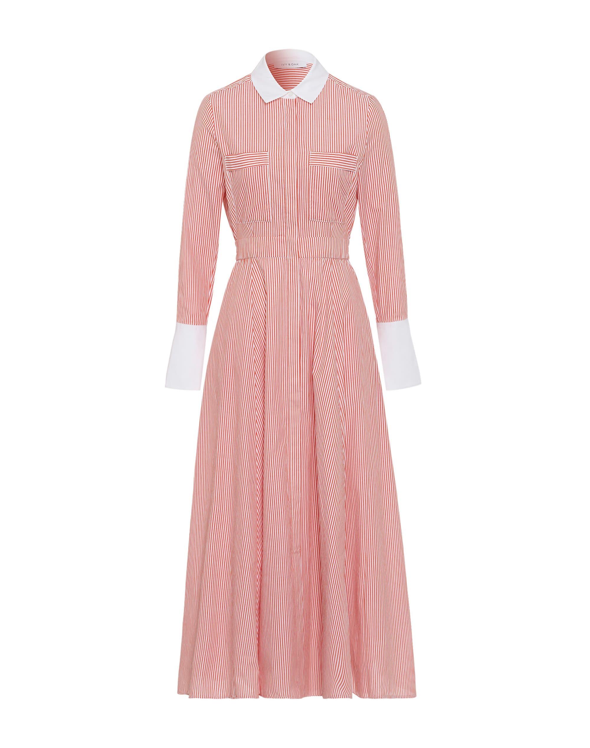 Kleid Shirt Dress Koralle
