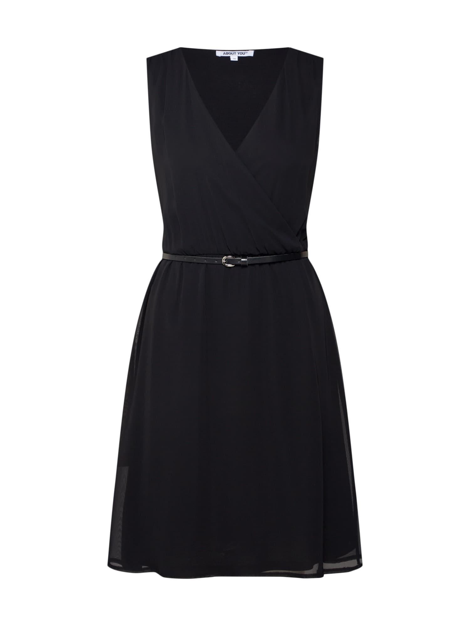 Šaty Lilian černá ABOUT YOU