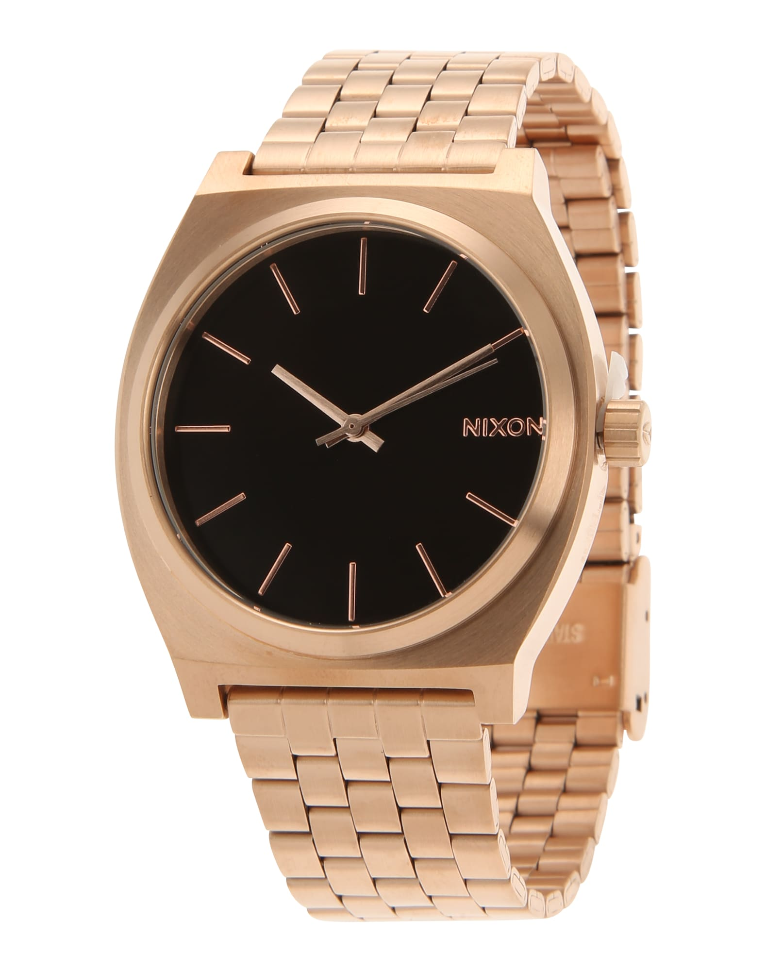 Analogové hodinky Time Teller zlatá černá Nixon