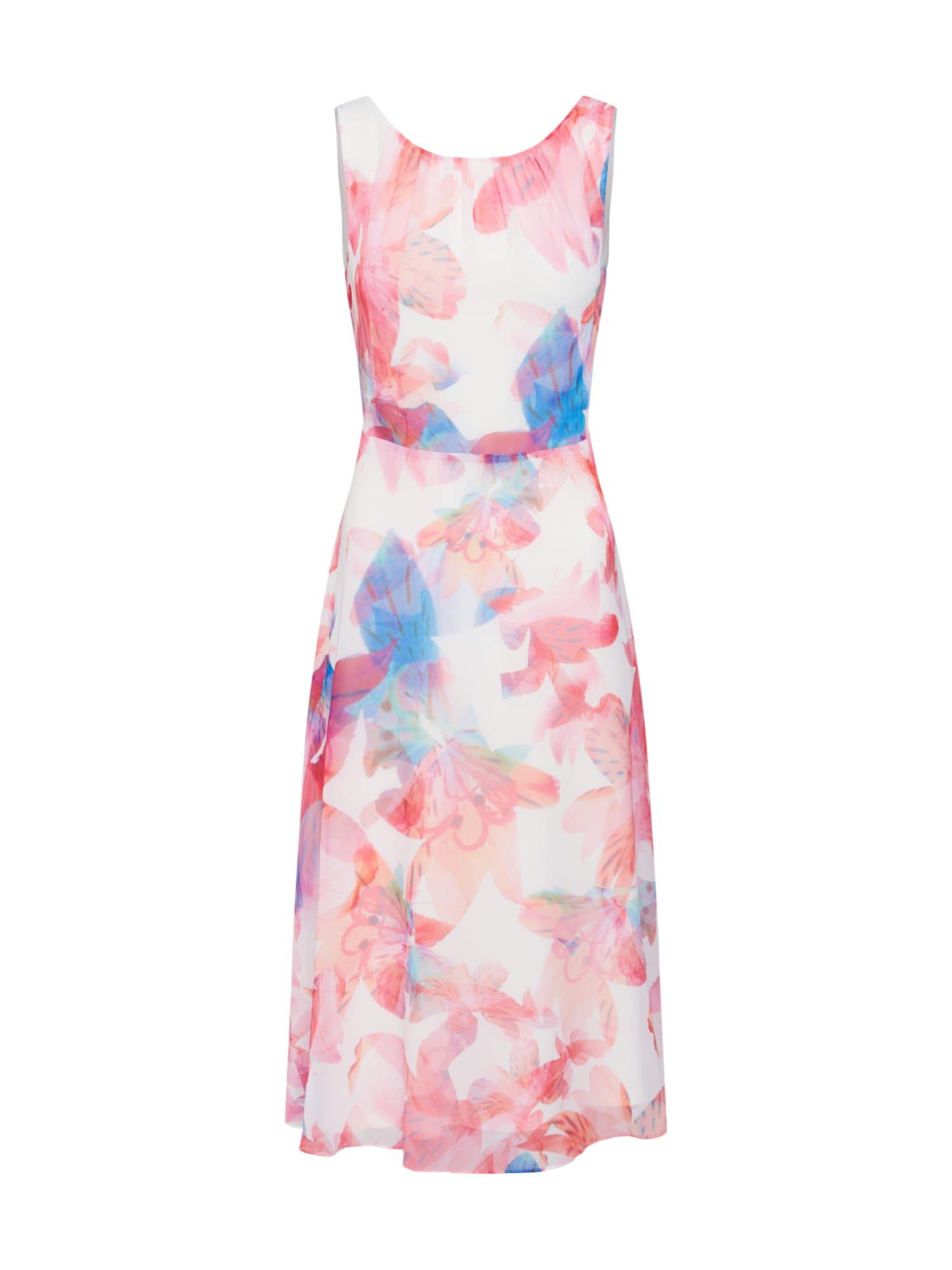 Šaty mix barev pink COMMA