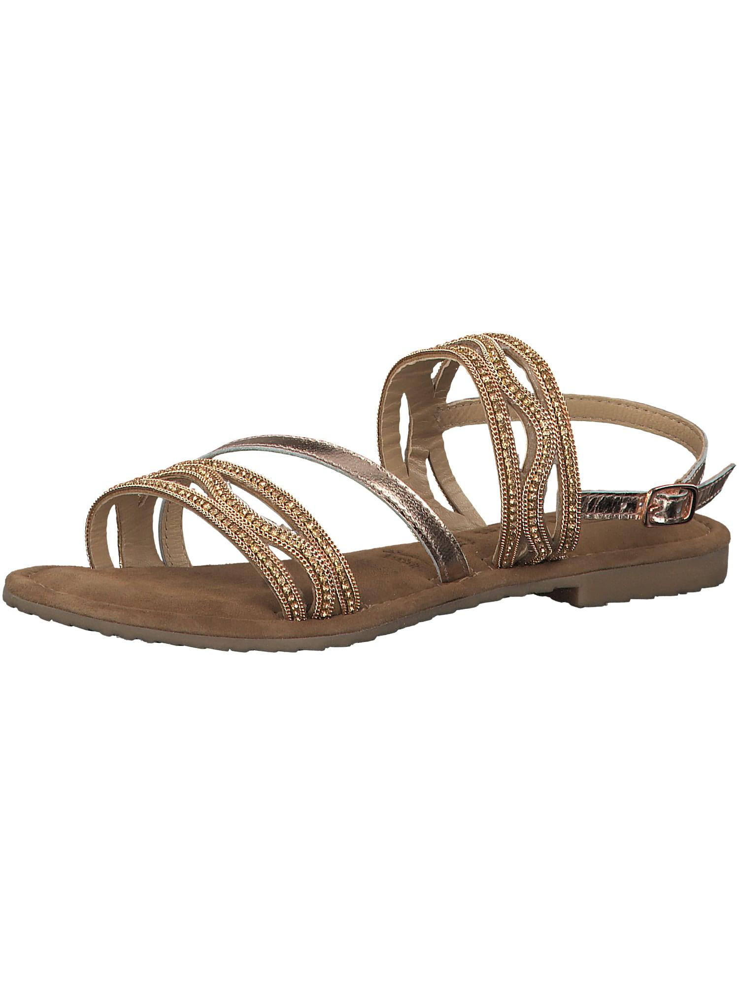 Páskové sandály Strappy zlatá TAMARIS
