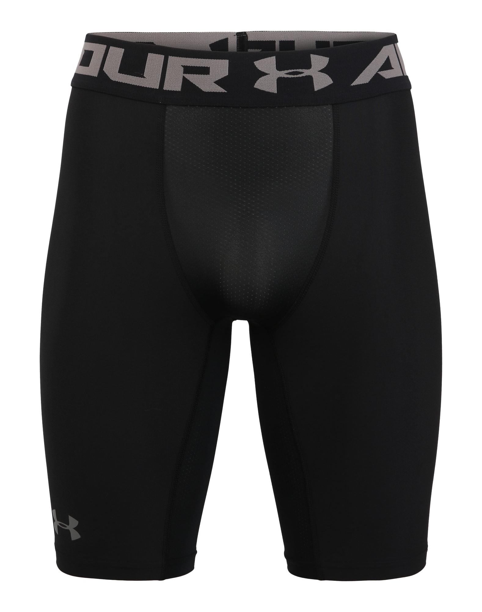 UNDER ARMOUR Sportovní kalhoty  černá / grafitová