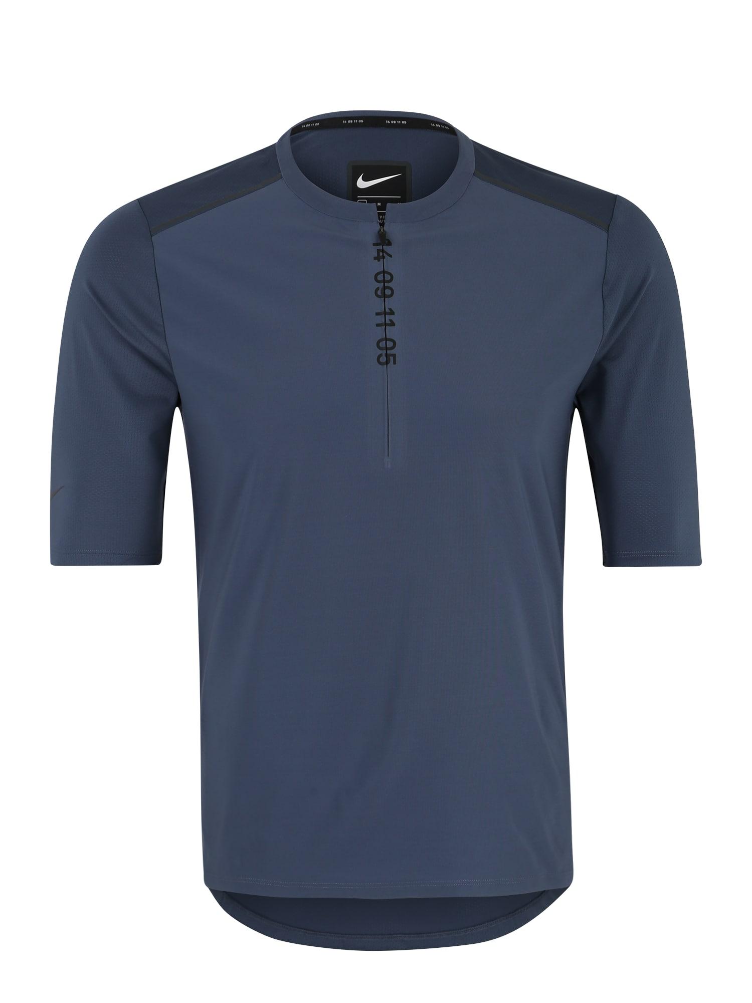 Funkční tričko tmavě modrá NIKE