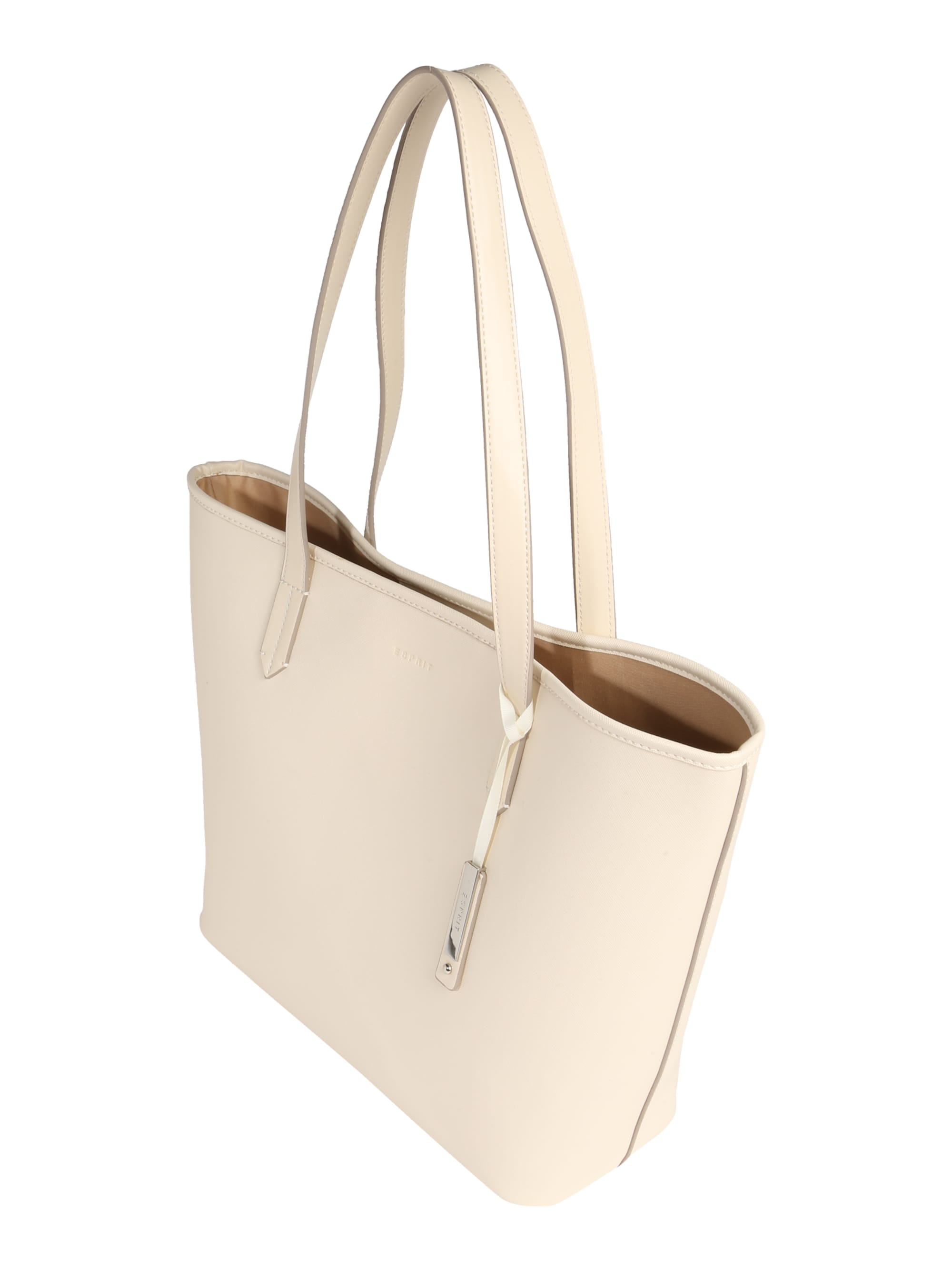 ESPRIT Torba shopper 'Farah'  biały