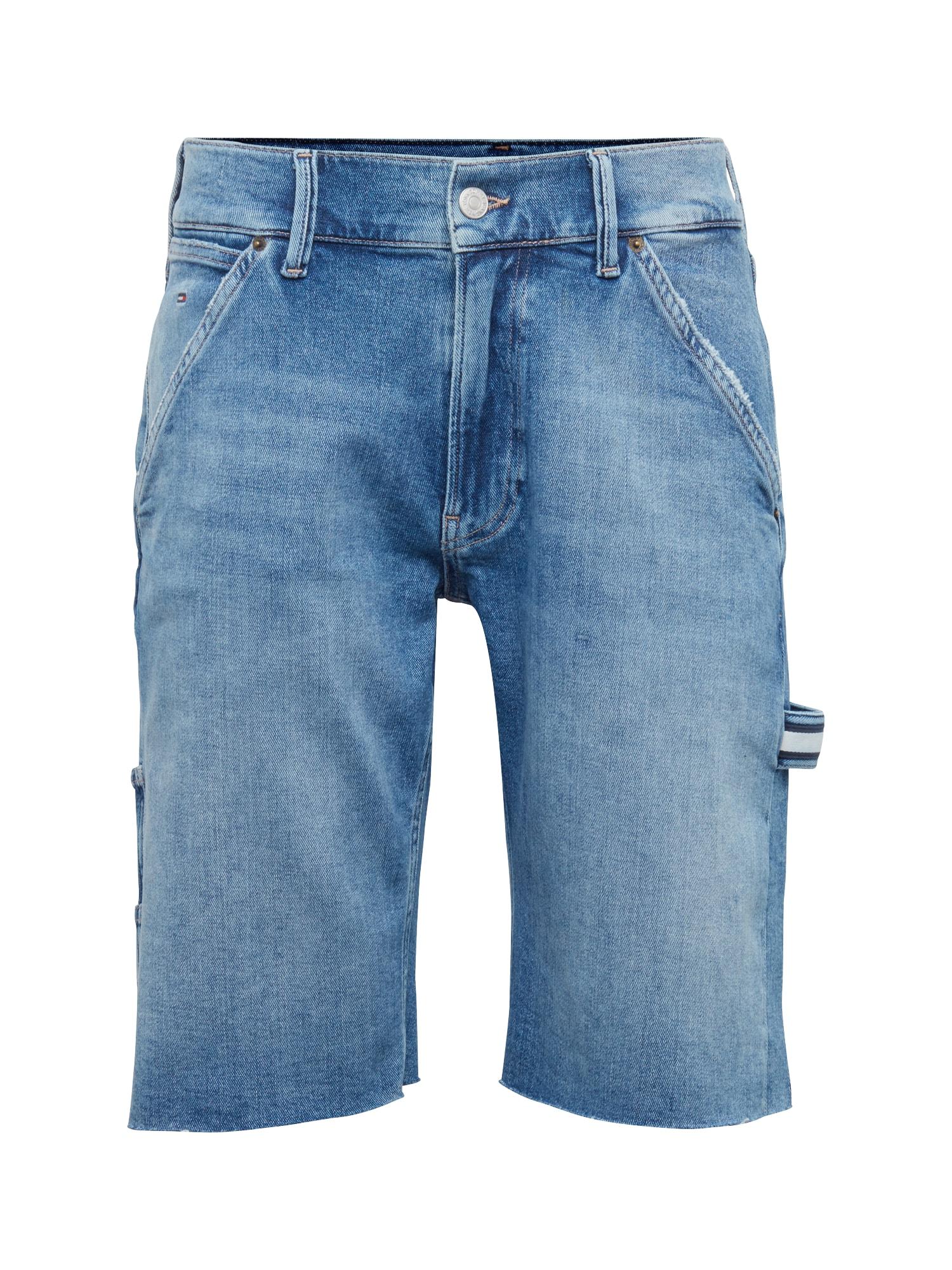 Džíny CARPENTER SHORT FNSBYM modrá džínovina Tommy Jeans