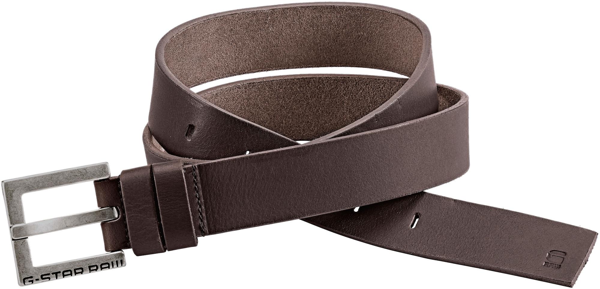 Ledergürtel 'Duko' | Accessoires > Gürtel > Ledergürtel | Dunkelbraun | G-Star Raw