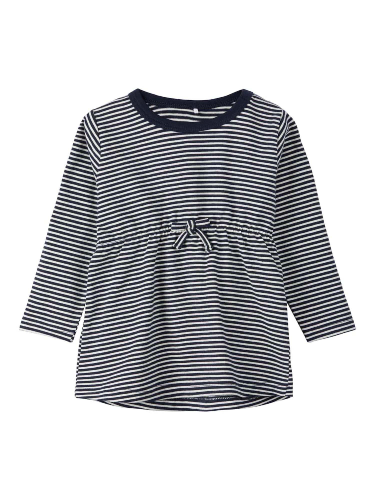 Tričko ultramarínová modř bílá NAME IT