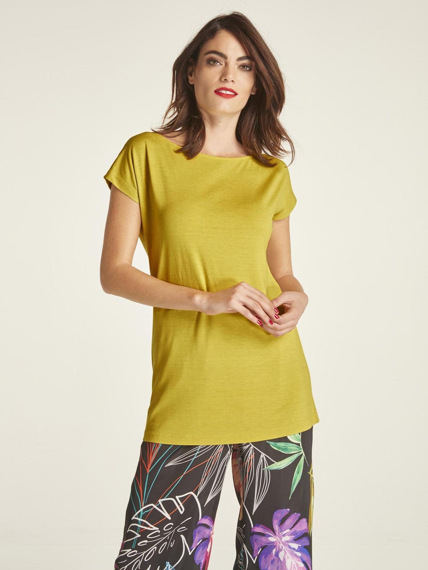 Tričko zlatě žlutá Heine