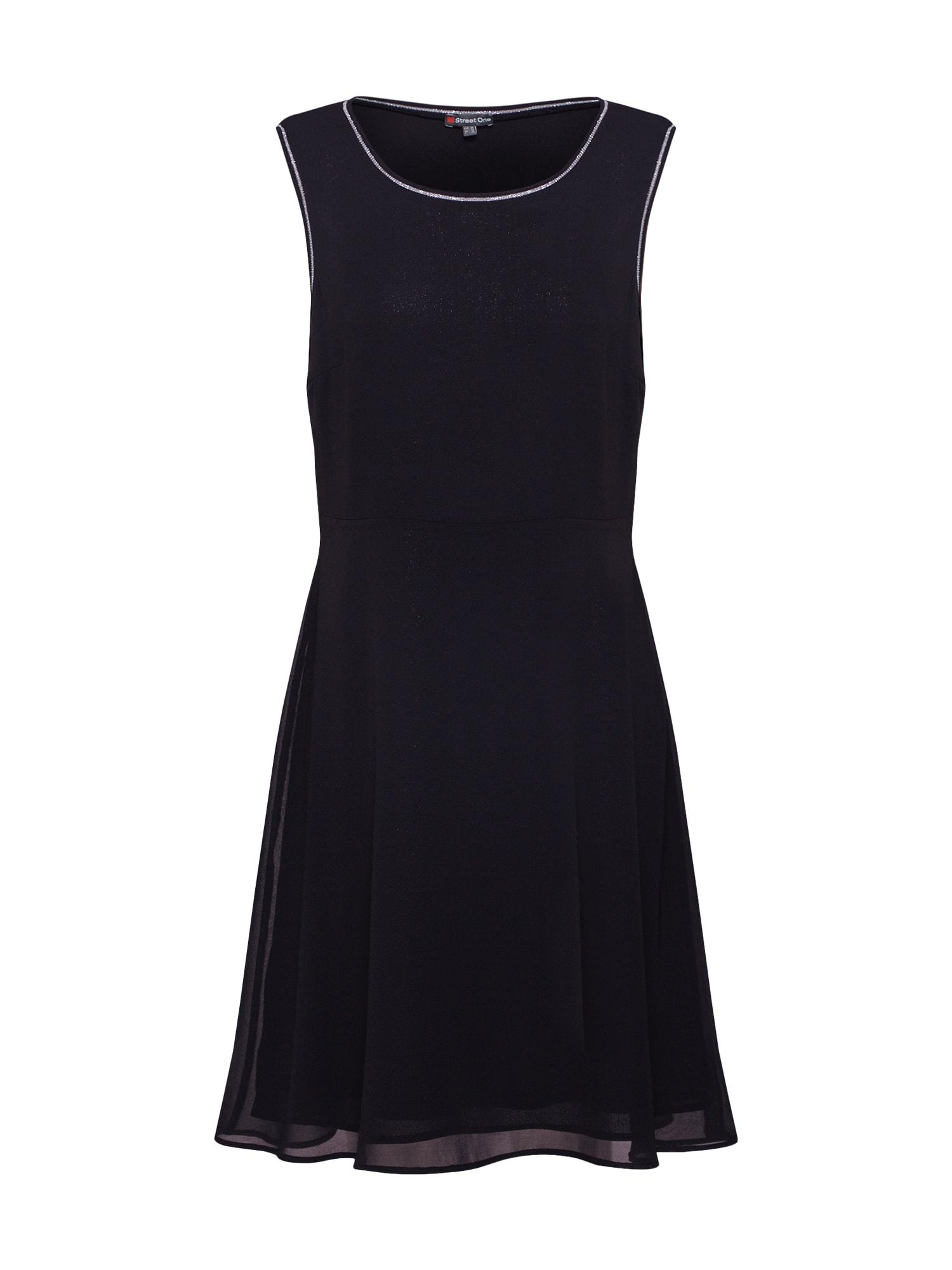 Koktejlové šaty černá STREET ONE