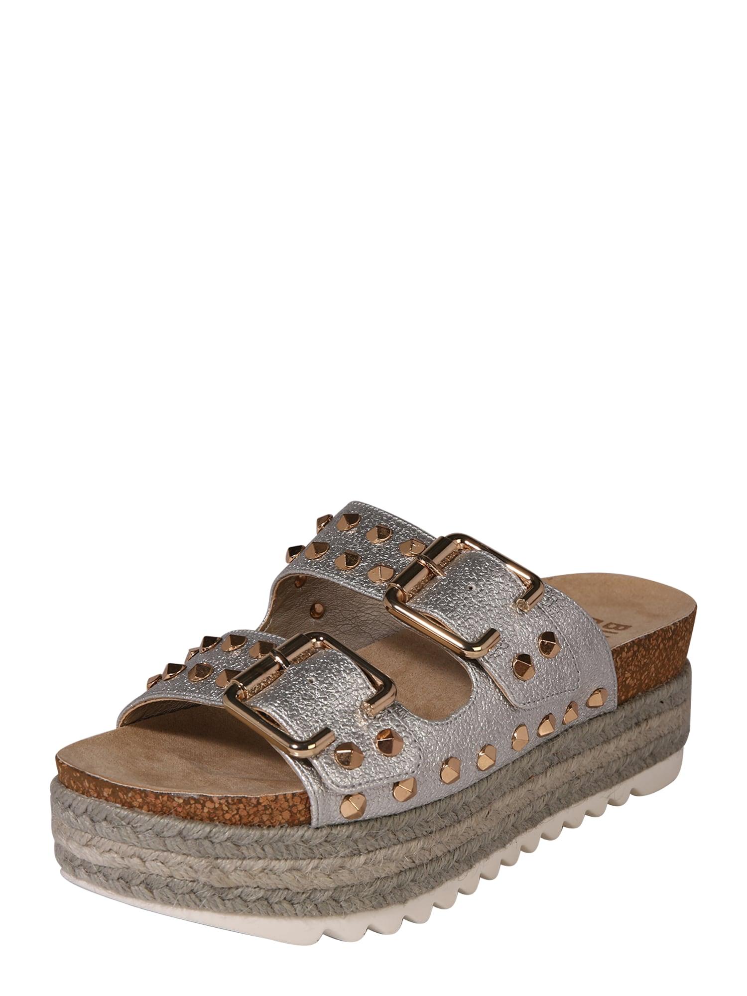 Sandály stříbrná BULLBOXER