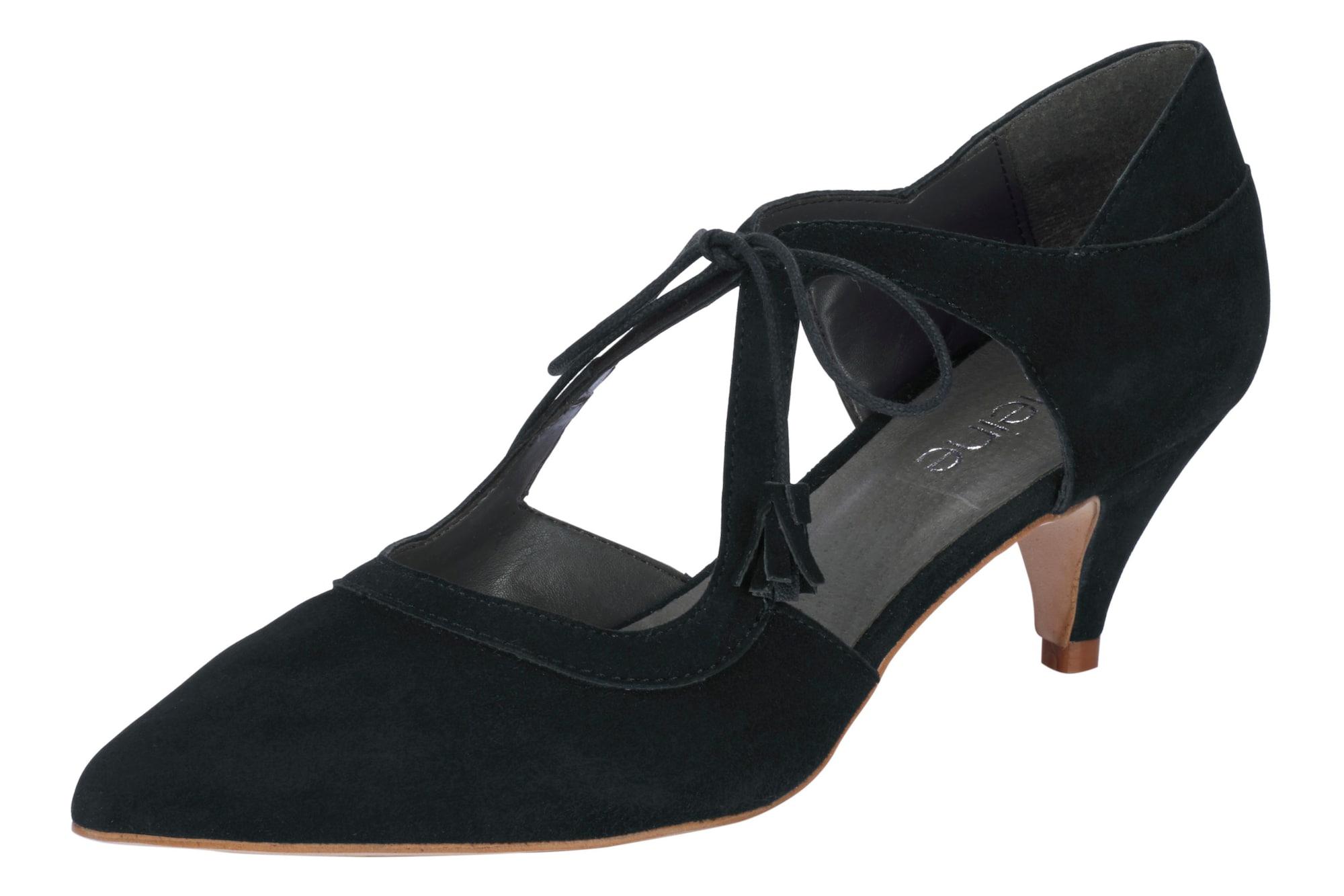 Schnürpumps | Schuhe > Pumps > Schnürpumps | Schwarz | heine
