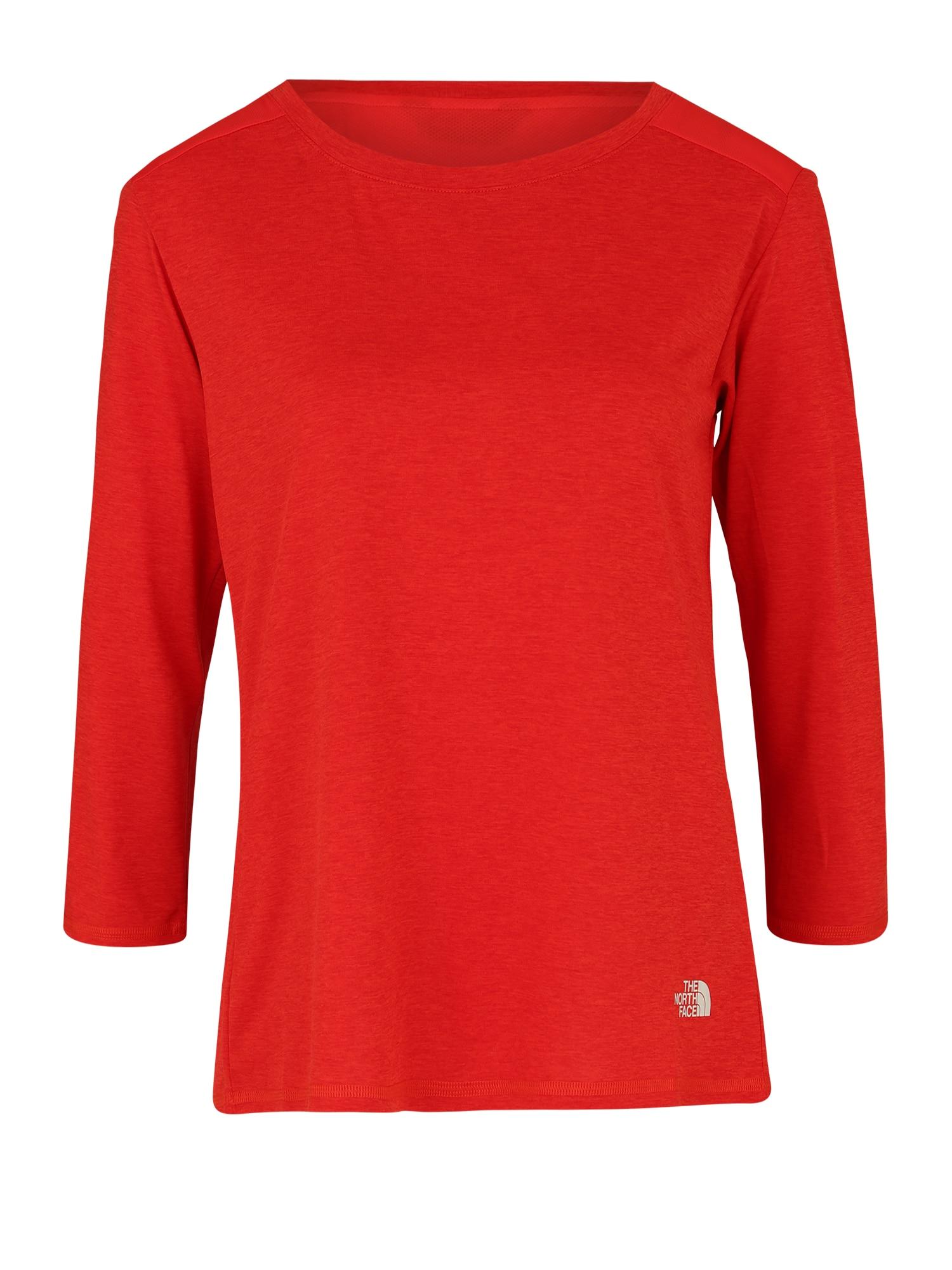 Funkční tričko INLUX červená THE NORTH FACE