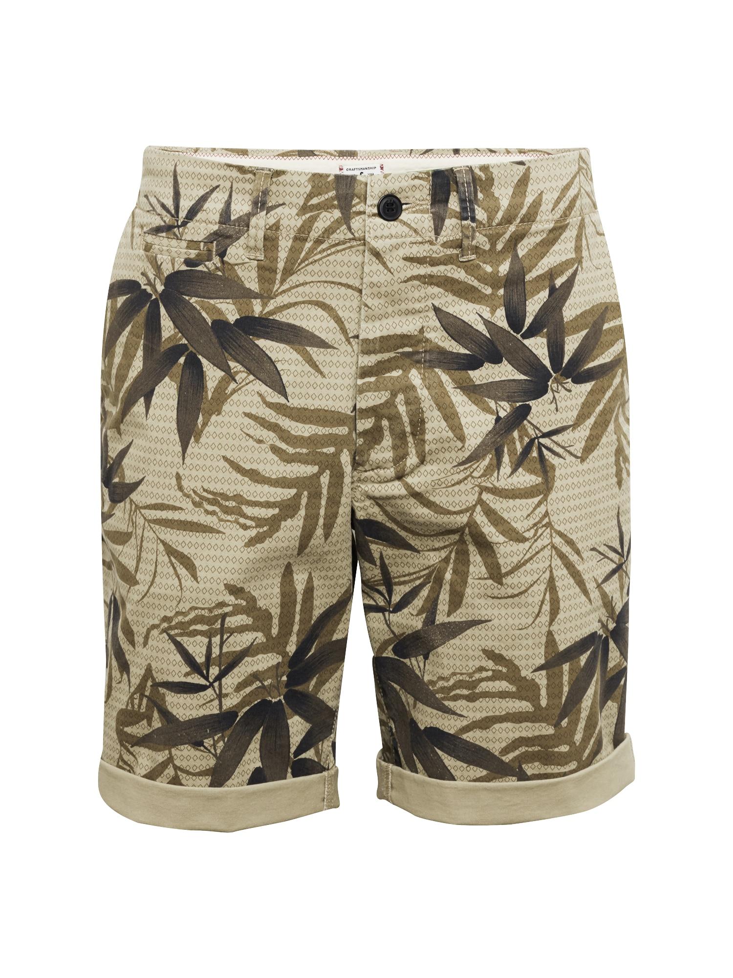 Chino kalhoty režná JACK & JONES