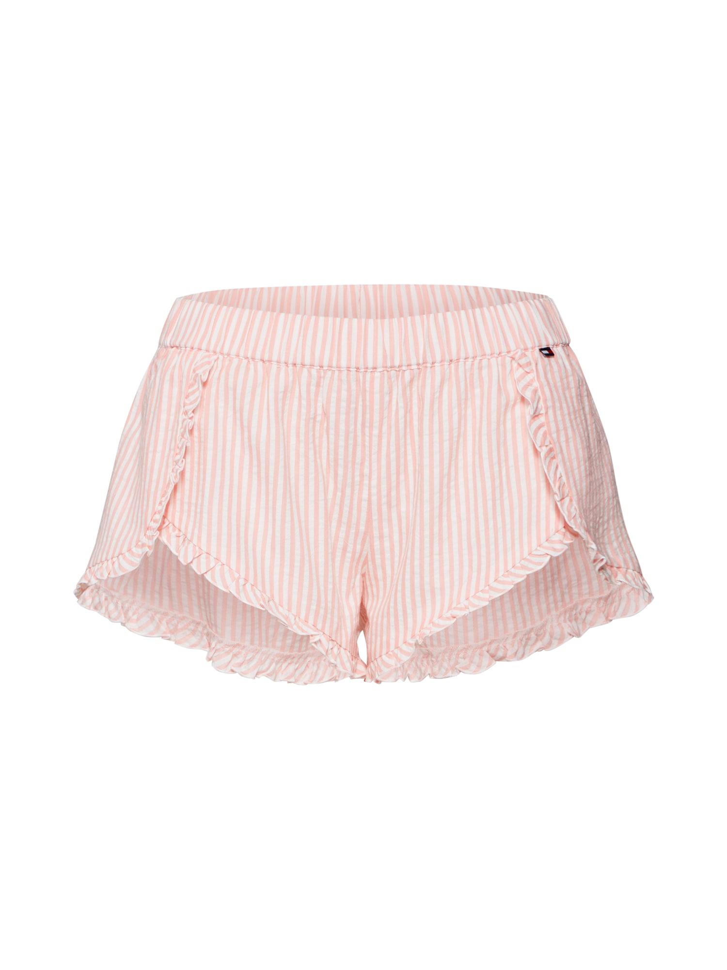 Pyžamové kalhoty růžová bílá Tommy Hilfiger Underwear