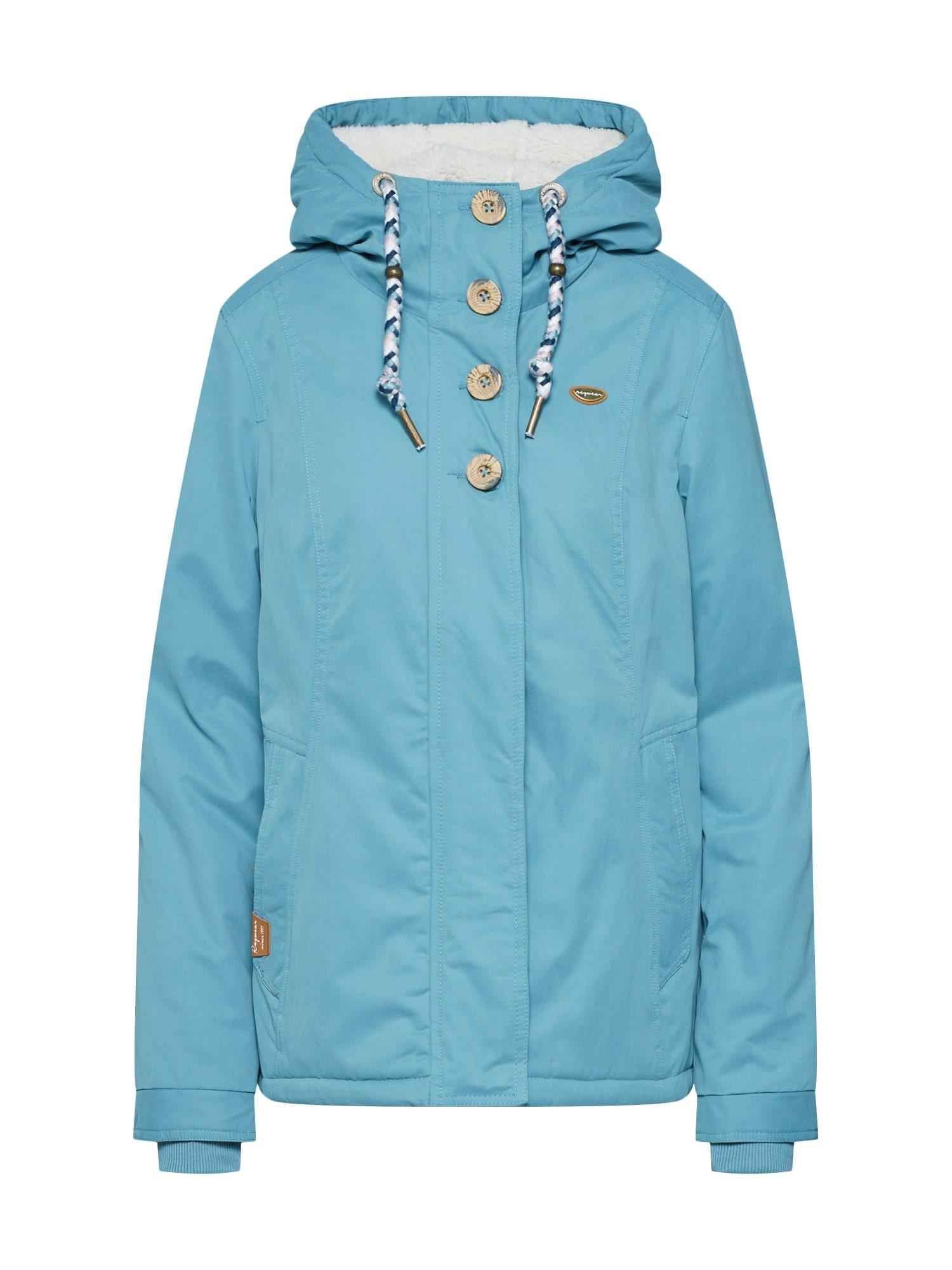 Zimní bunda LYNX světlemodrá Ragwear