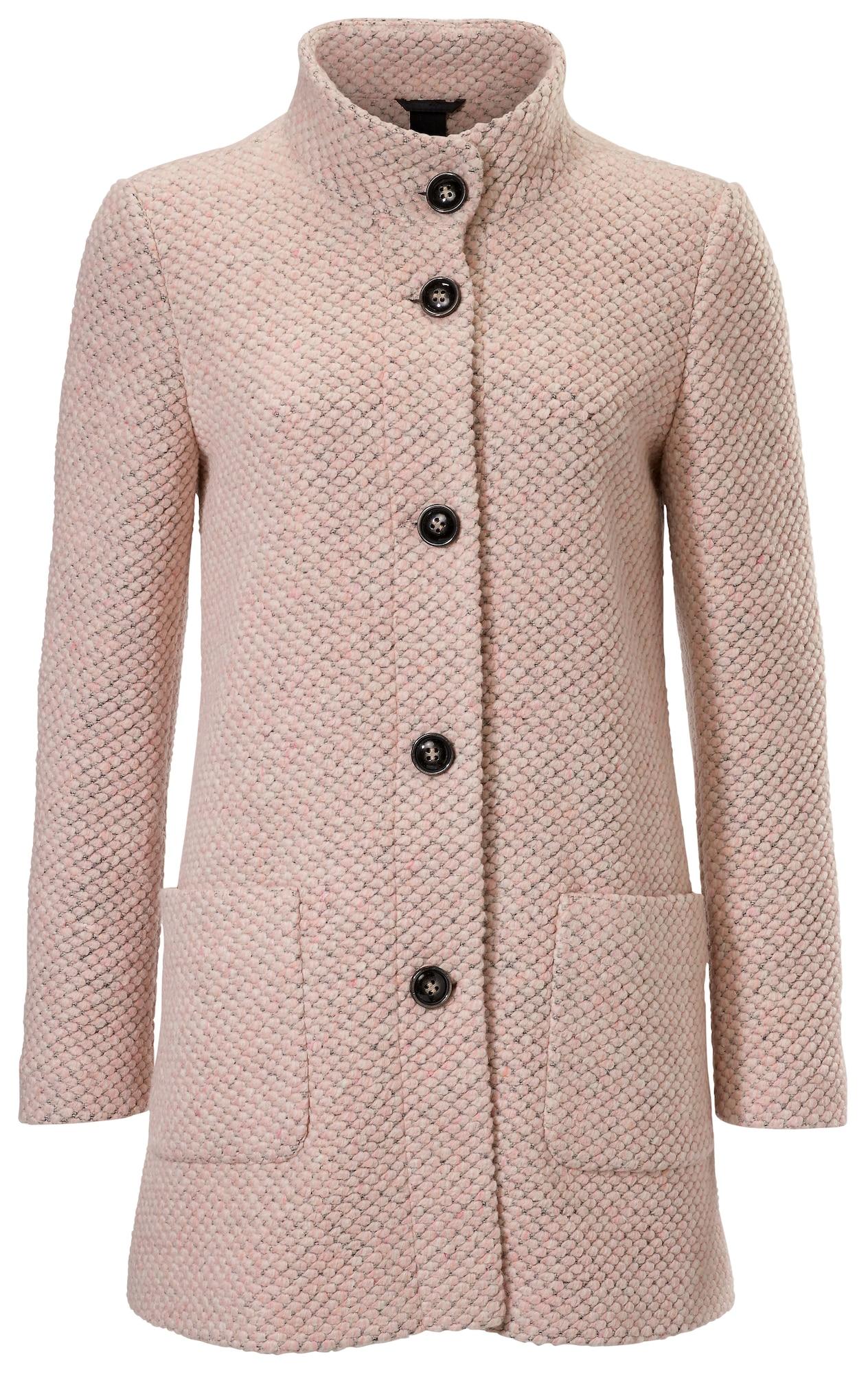 Pletený kabátek růže Heine