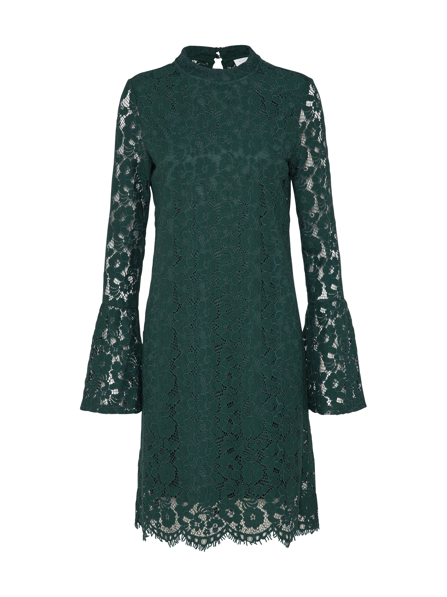 VILA Koktejlové šaty 'VICARY'  zelená