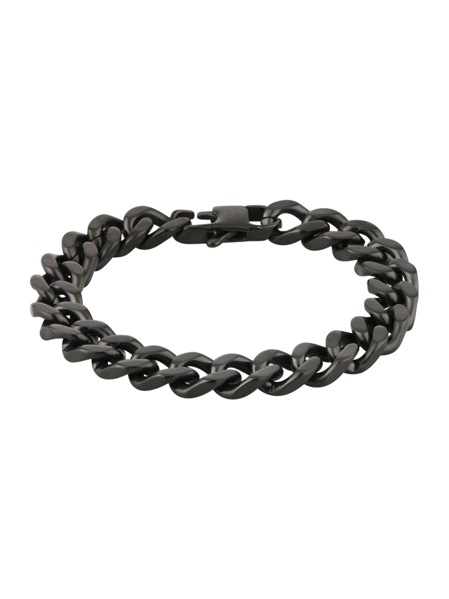Náramek Bracelet Classic Line černá ROYAL-EGO