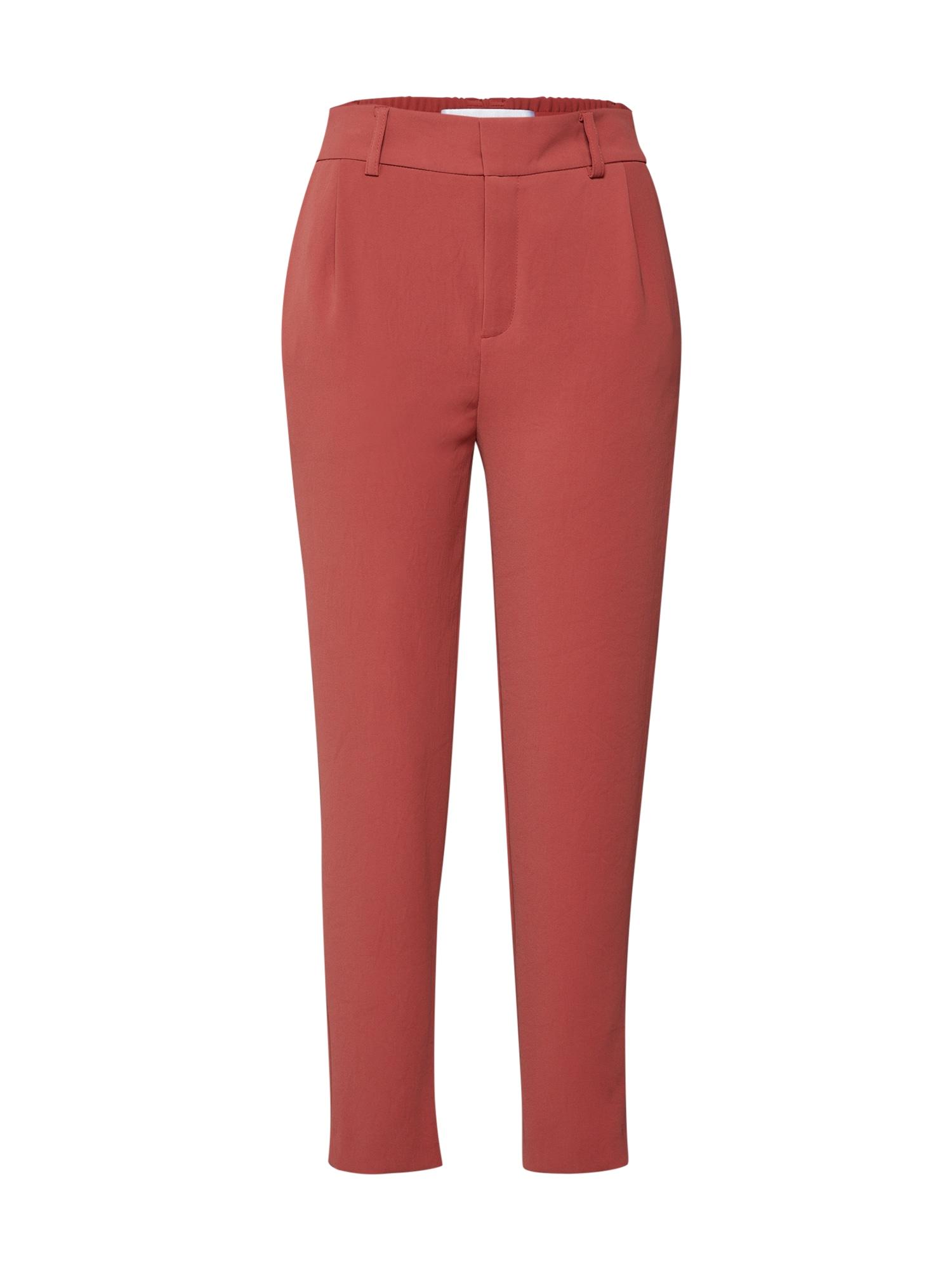Kalhoty FIND červená DRYKORN
