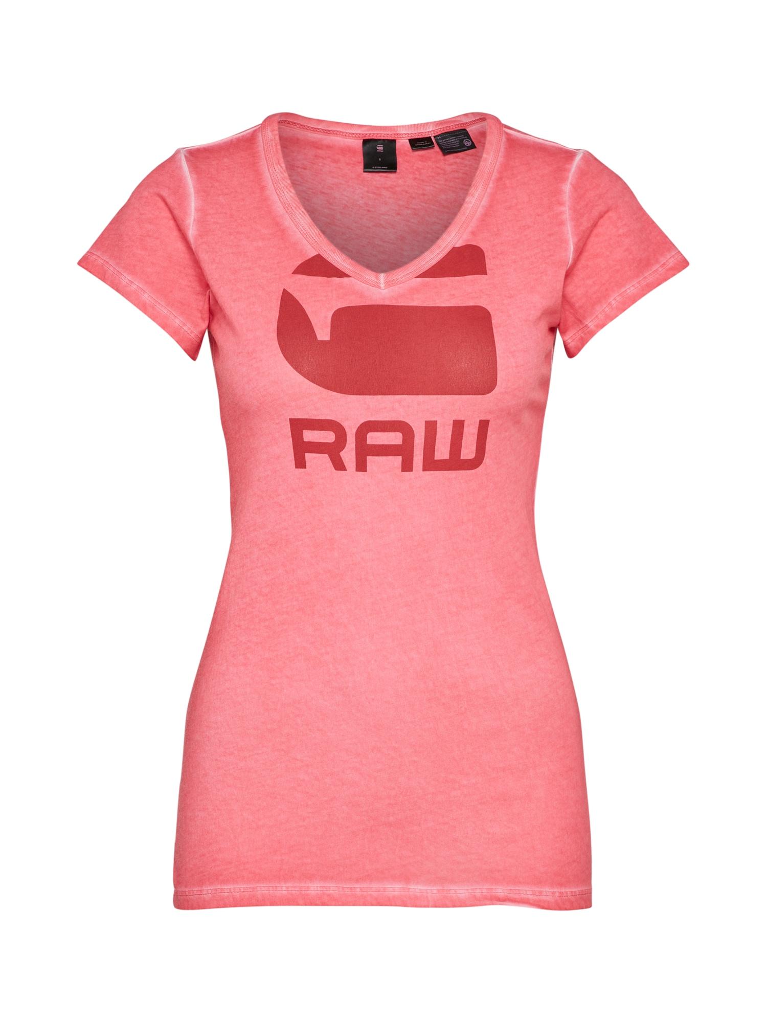 G-STAR RAW Dames Shirt Suphe pink