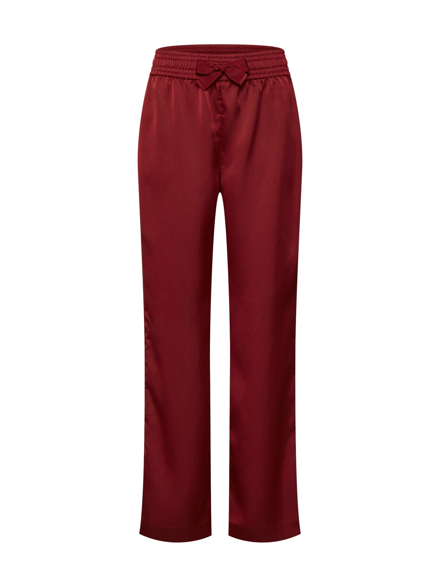 Kalhoty červená SECOND FEMALE
